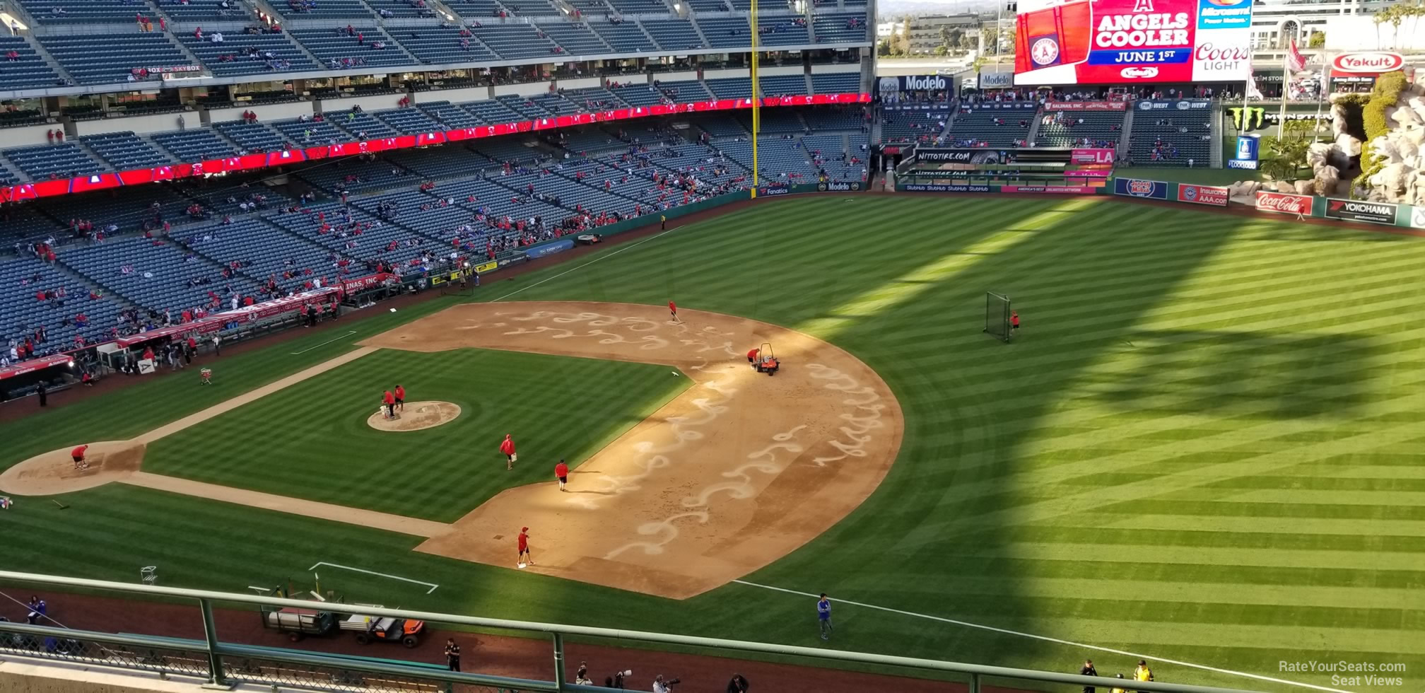 Seat View for Angel Stadium Section 427