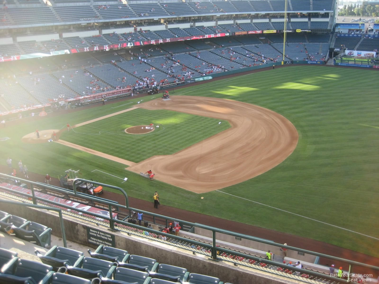 Seat View for Angel Stadium Section 428, Row F