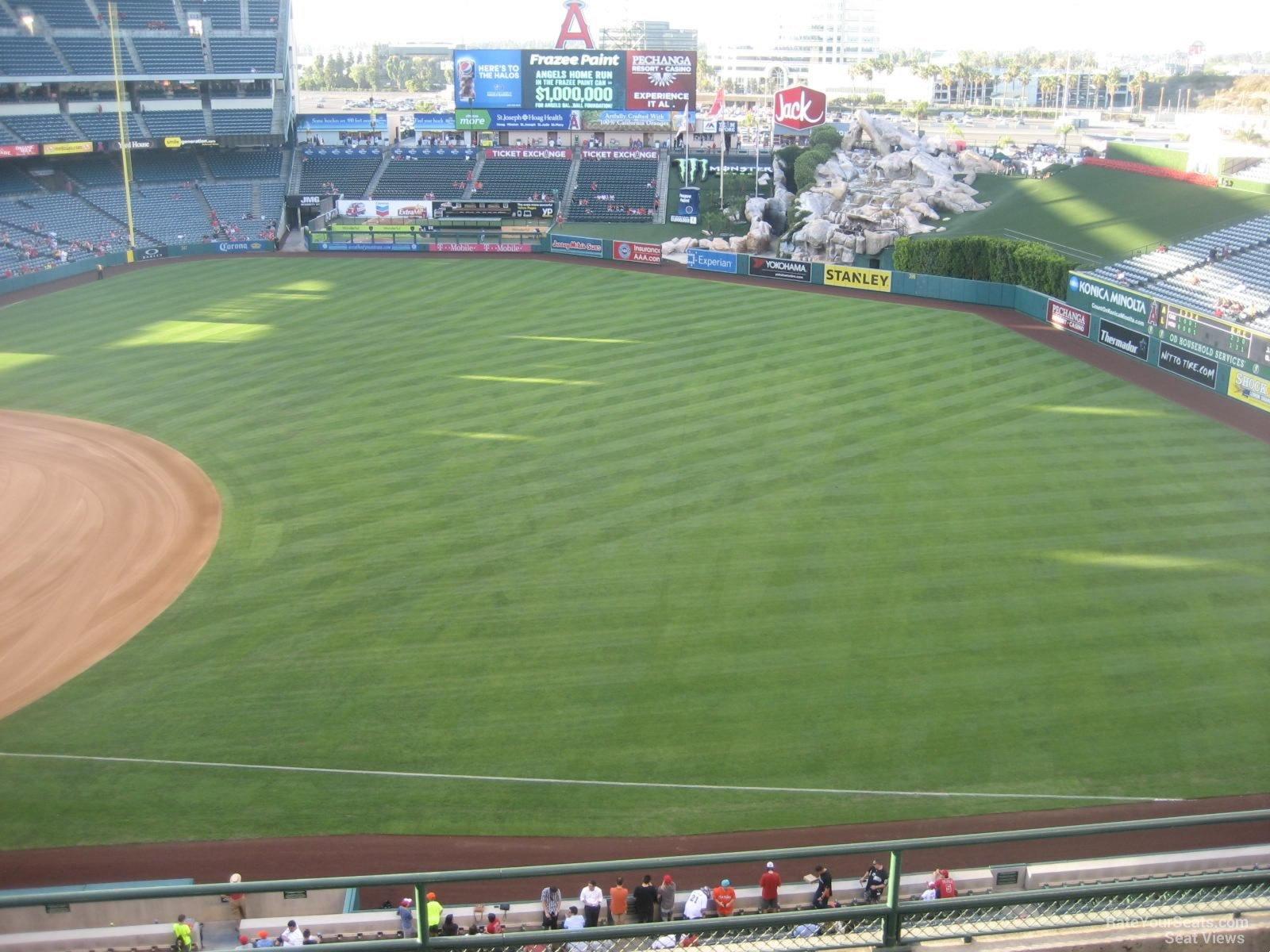 Angel Stadium Section 428 - RateYourSeats.com
