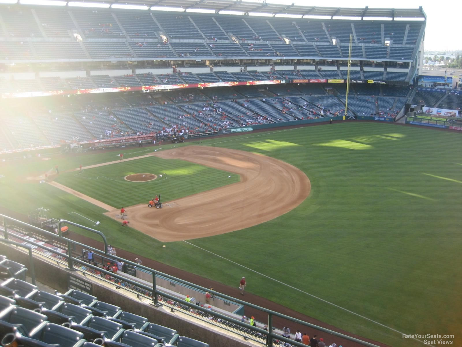 Seat View for Angel Stadium Section 429, Row F