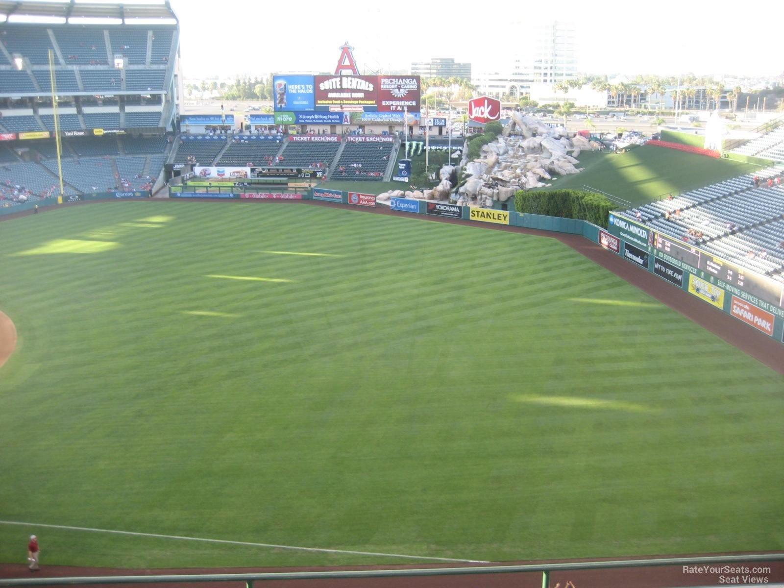 Angel Stadium Section 429 - RateYourSeats.com