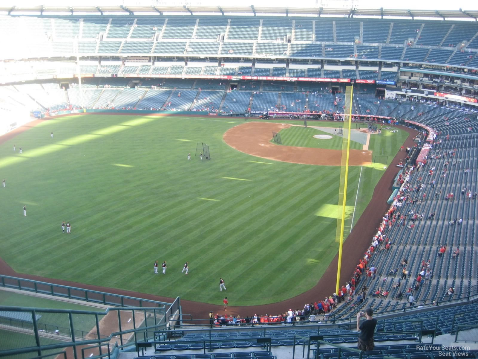Seat View for Angel Stadium Section 501, Row R