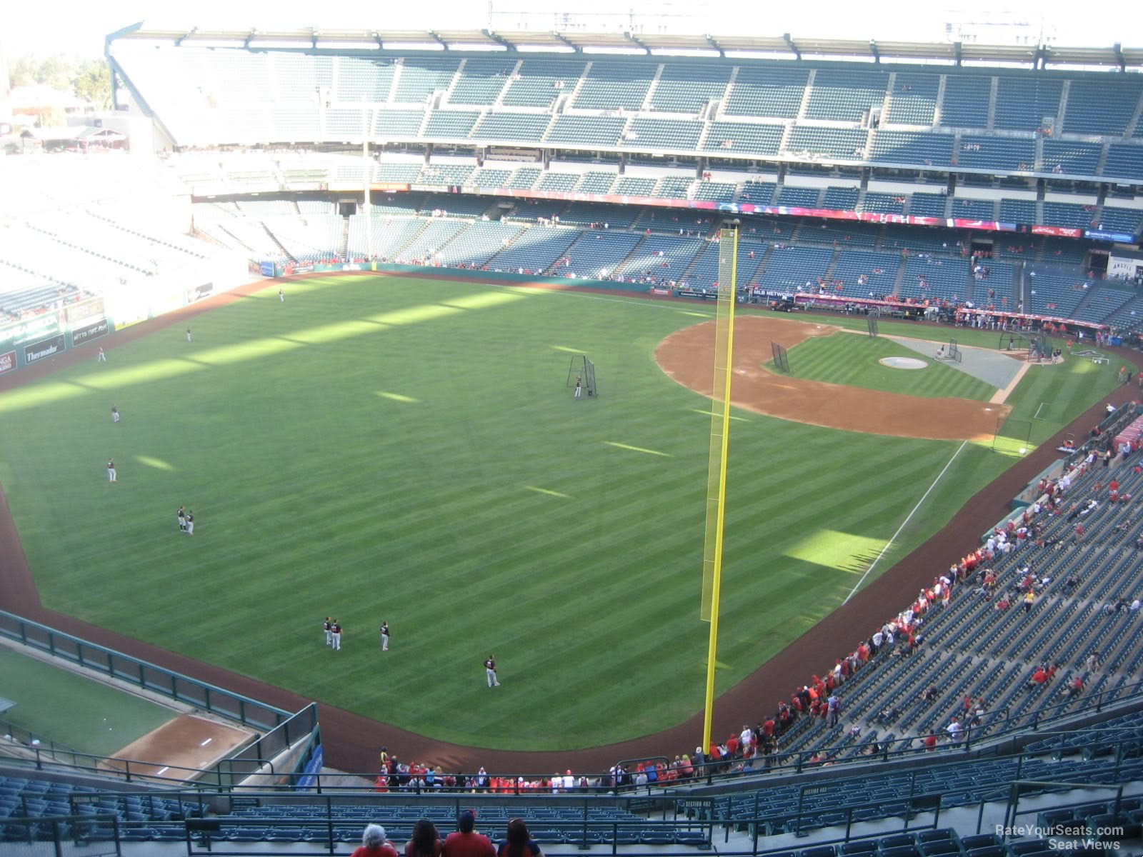 Seat View for Angel Stadium Section 503, Row R