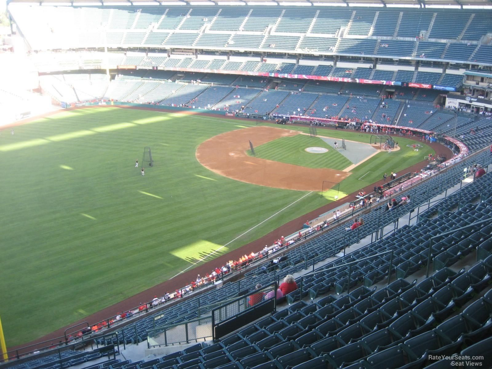 Seat View for Angel Stadium Section 506, Row R