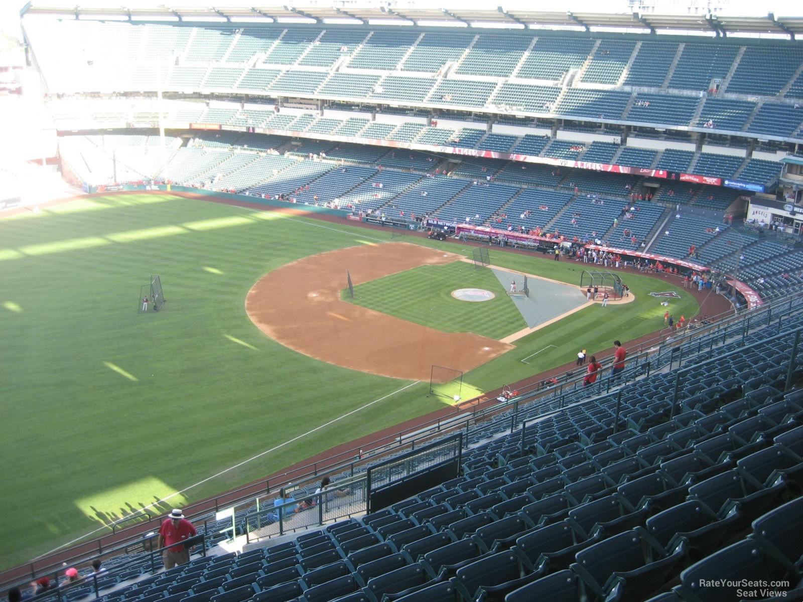 Seat View for Angel Stadium Section 508, Row R