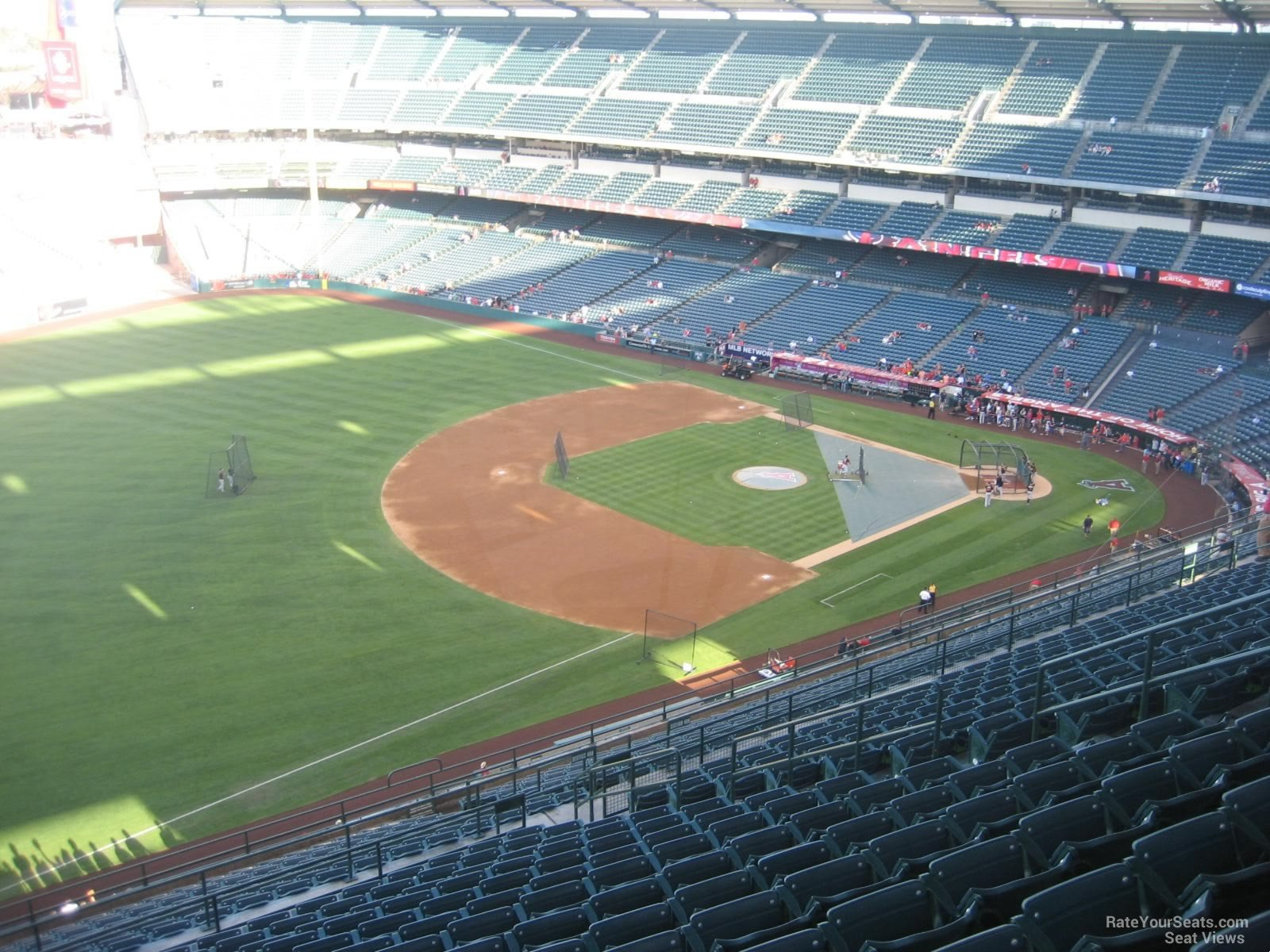Seat View for Angel Stadium Section 509, Row R