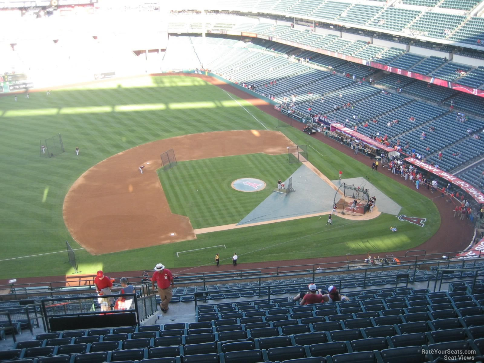 Seat View for Angel Stadium Section 513, Row R