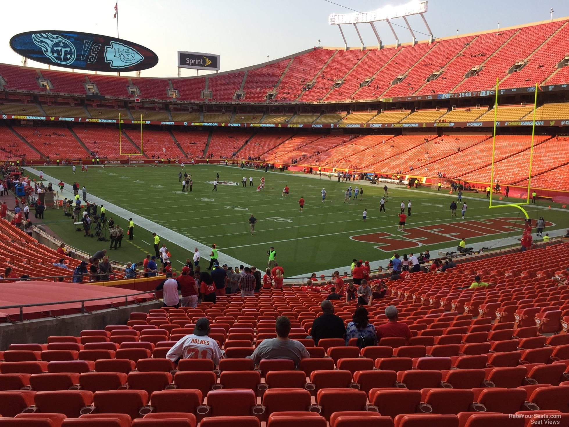 Seat View for Arrowhead Stadium Section 113, Row 30
