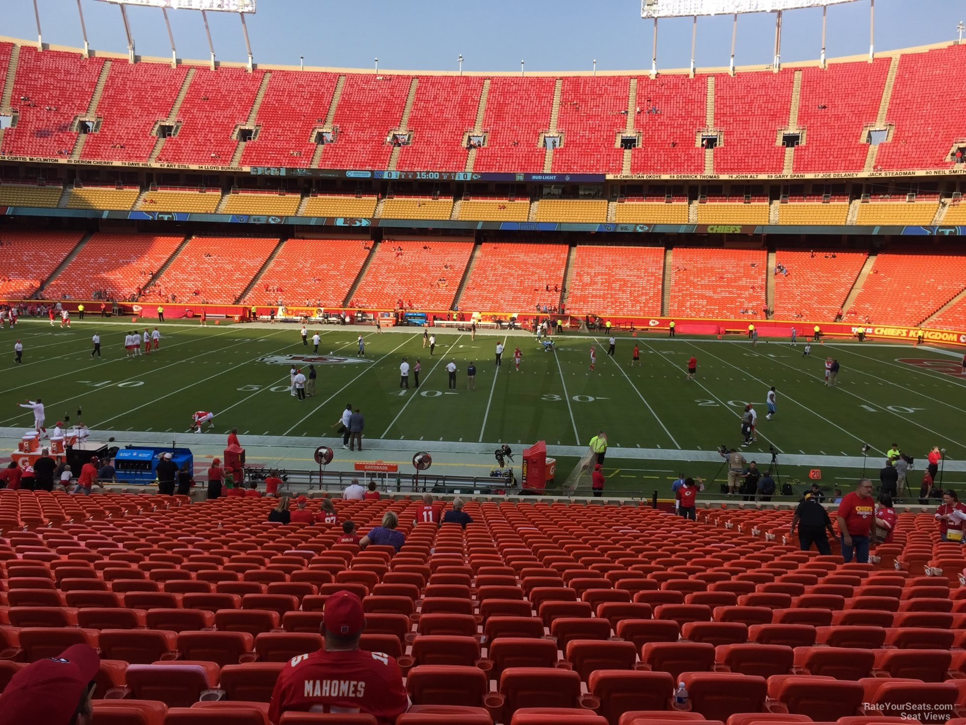 Seat View For Arrowhead Stadium Section 118 Row 30