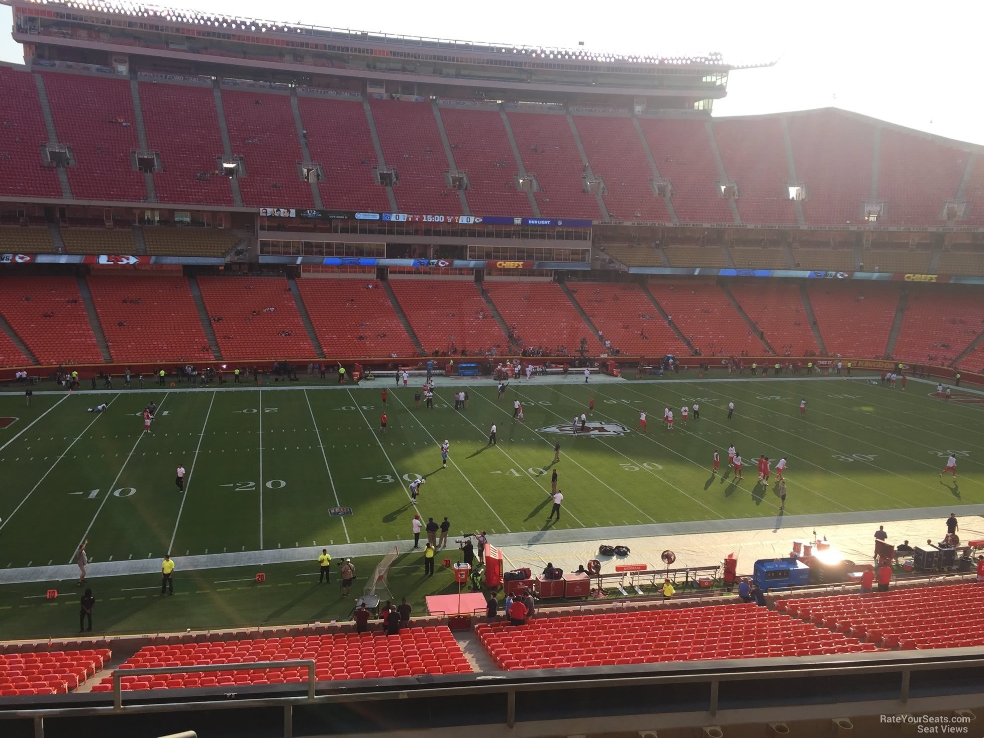 Seat View for Arrowhead Stadium Section 203, Row 7