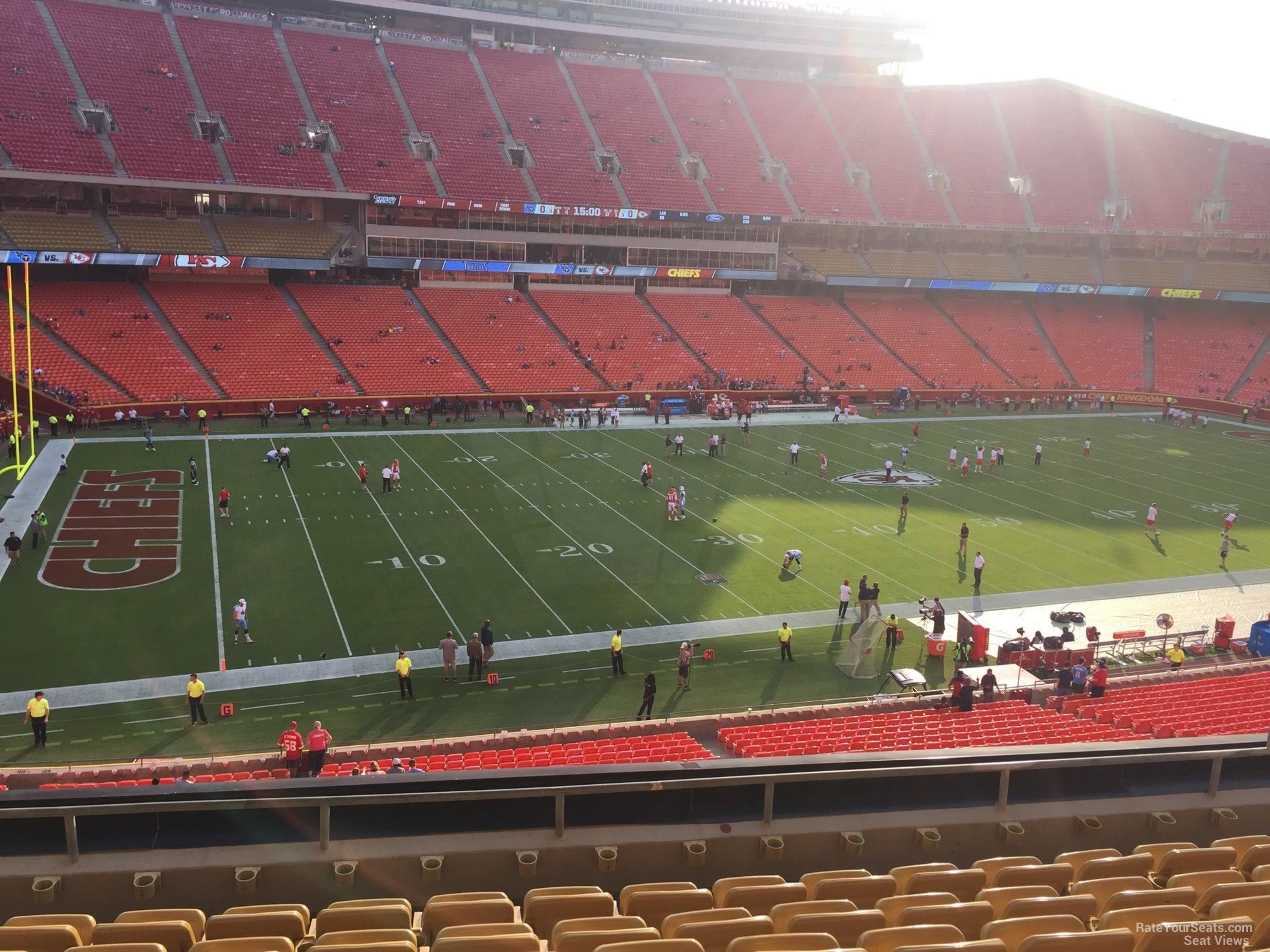 Seat View for Arrowhead Stadium Section 205, Row 7