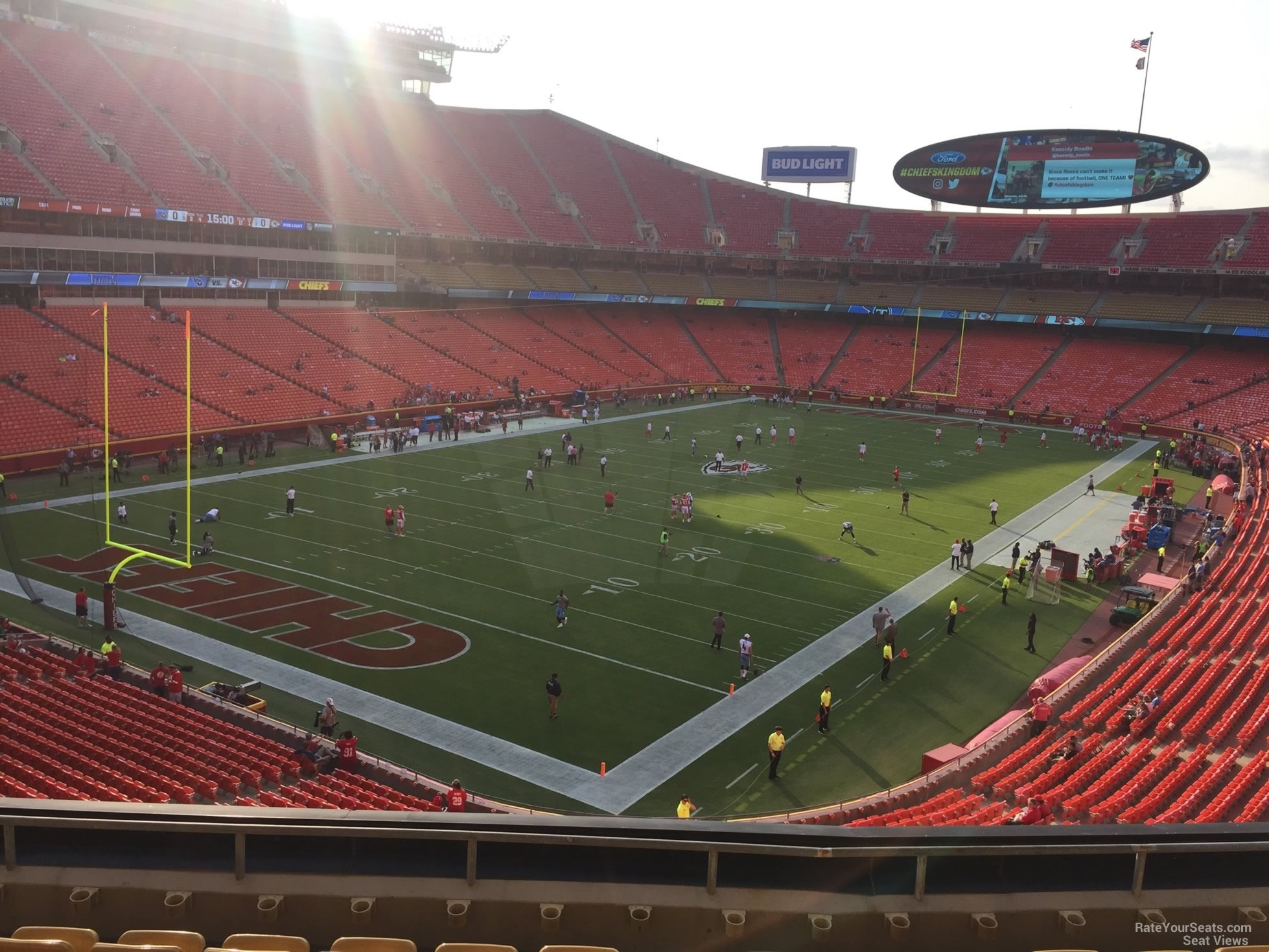 Seat View for Arrowhead Stadium Section 209, Row 7