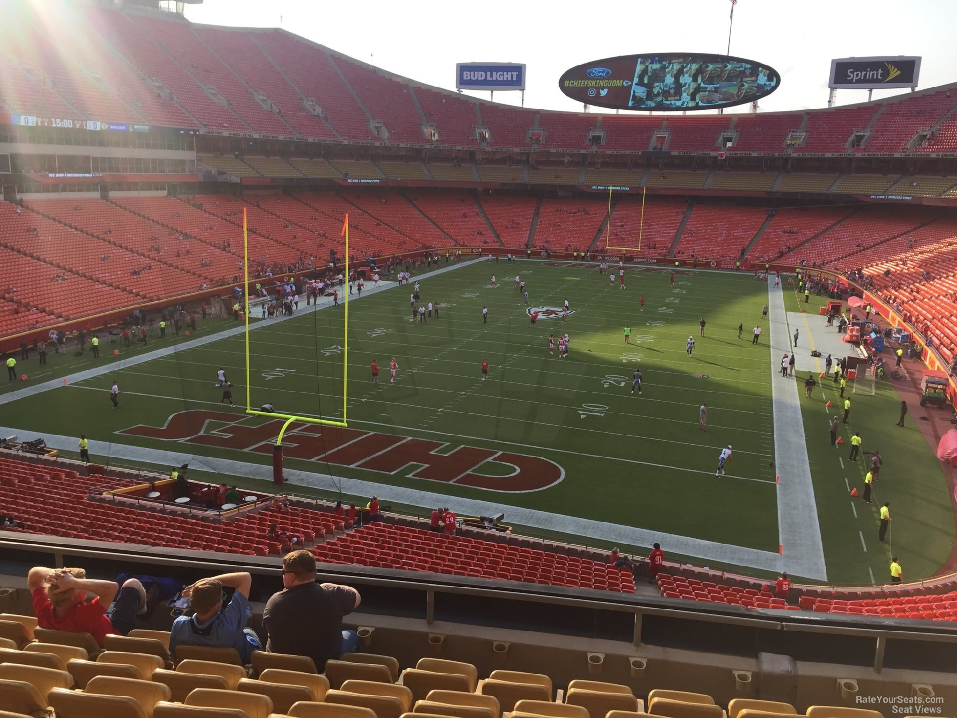Seat View for Arrowhead Stadium Section 211, Row 7