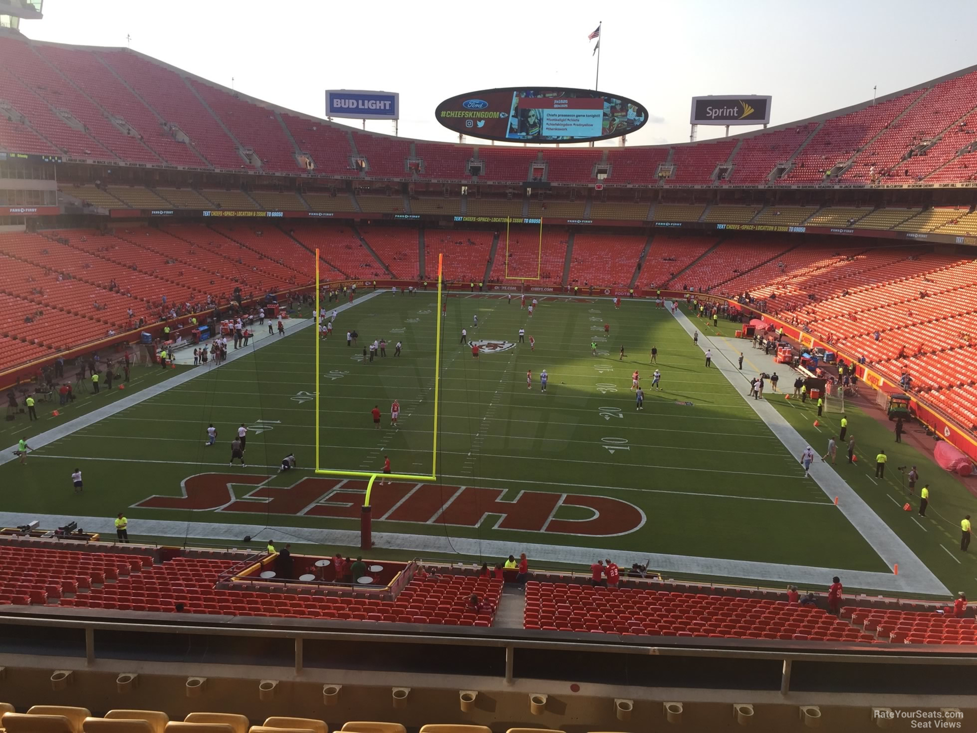 Seat View for Arrowhead Stadium Section 212, Row 7
