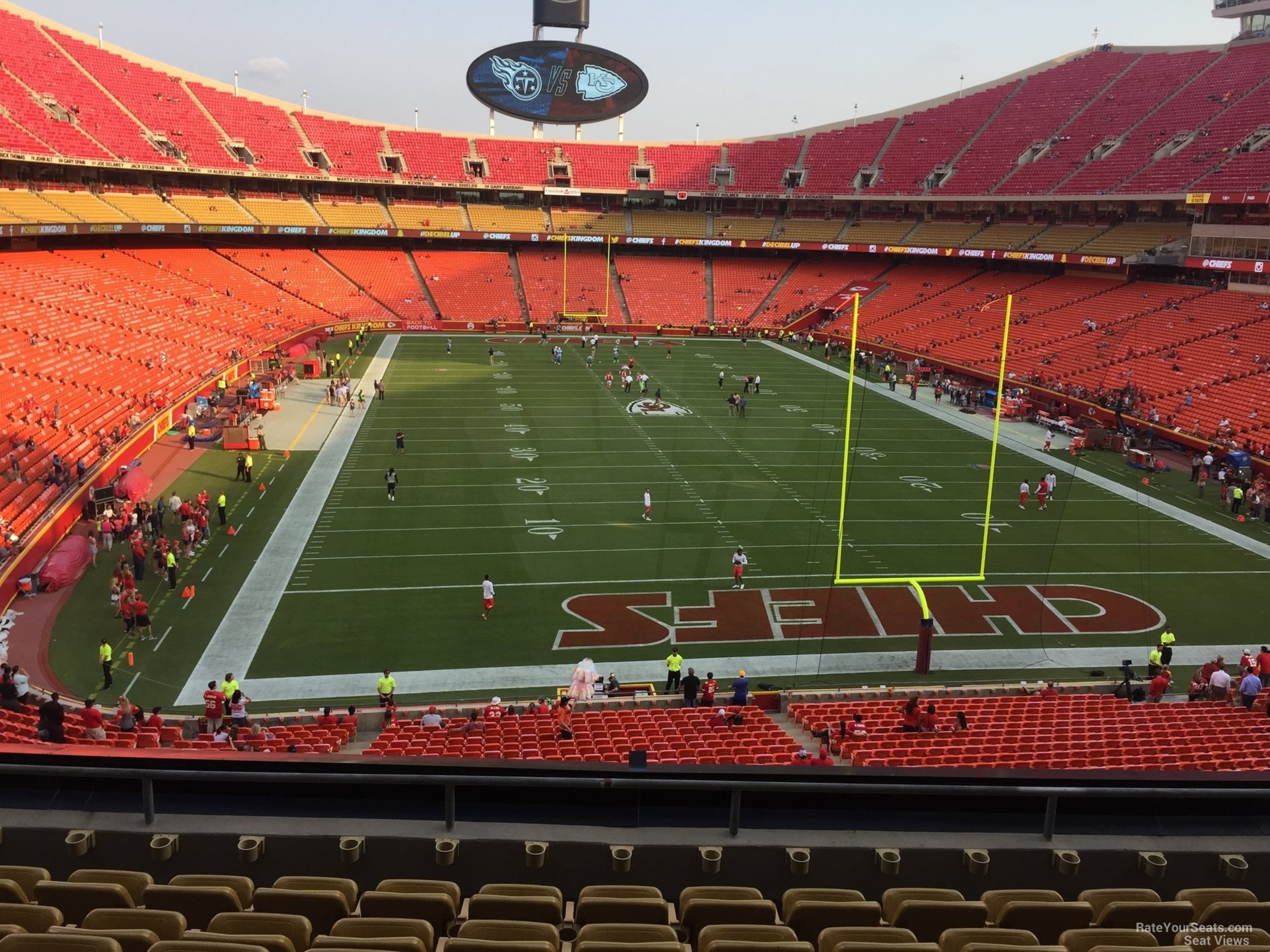 Seat View for Arrowhead Stadium Section 237, Row 7
