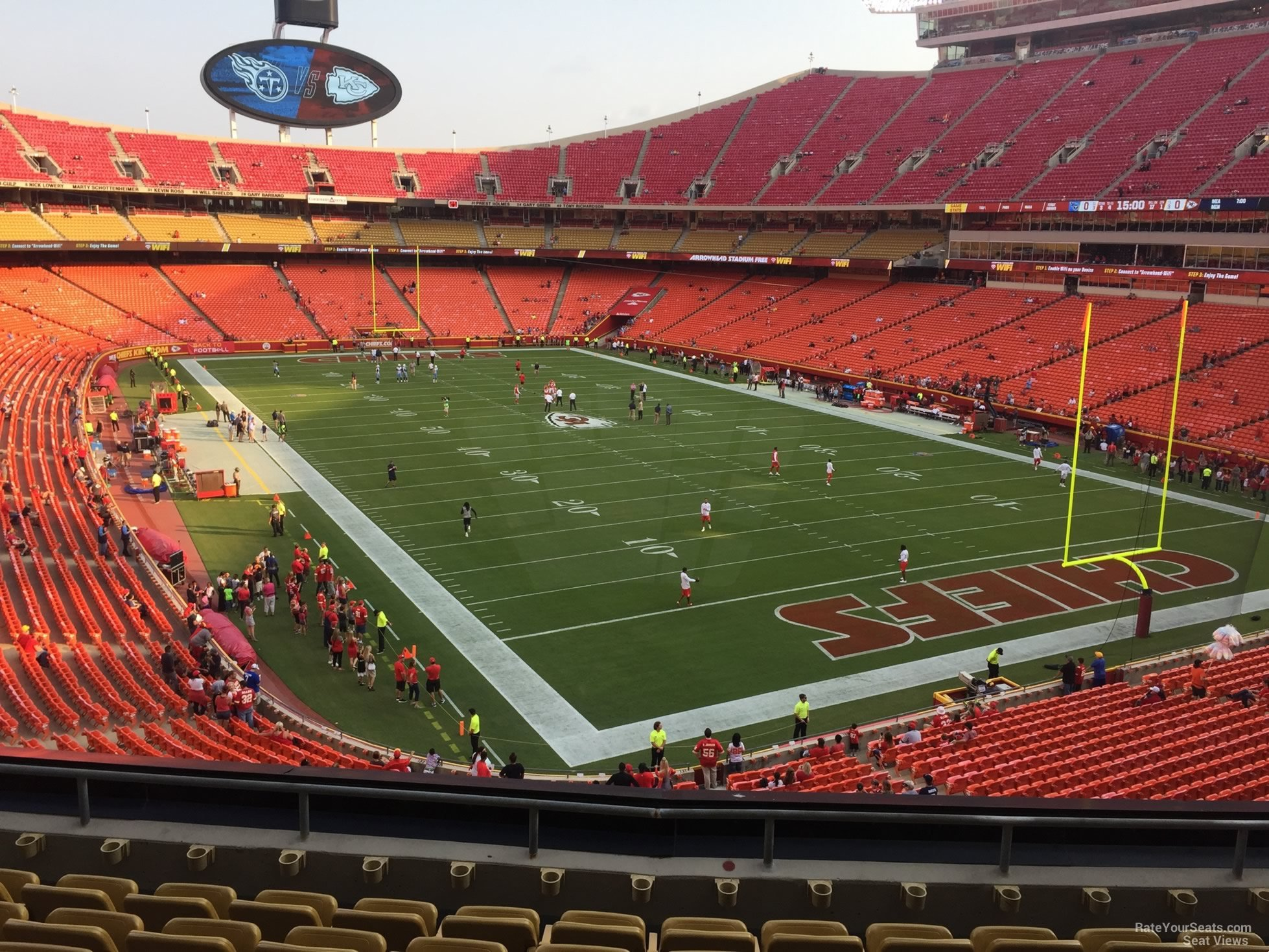 Seat View for Arrowhead Stadium Section 239, Row 7
