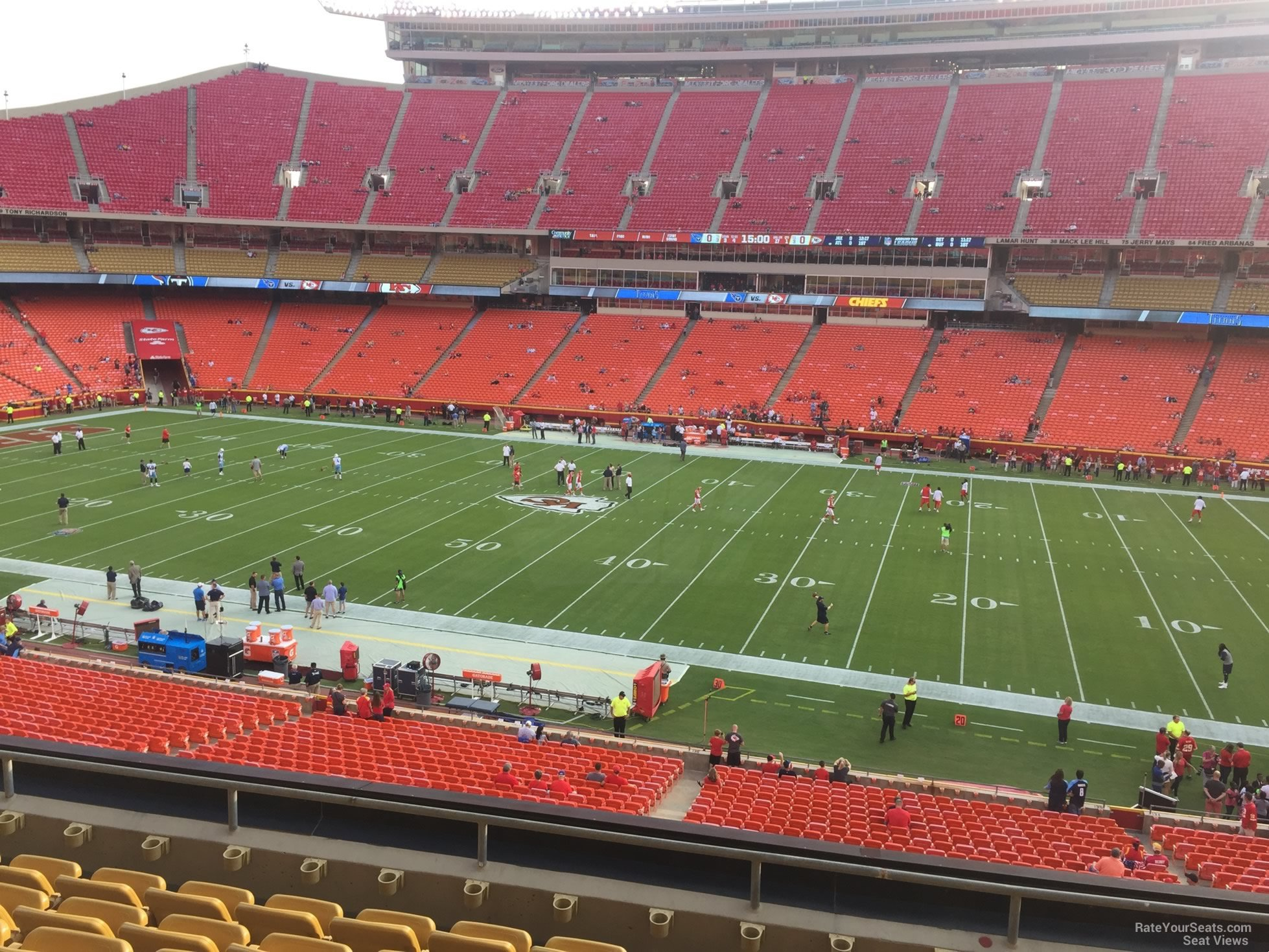 Seat View for Arrowhead Stadium Section 245, Row 7