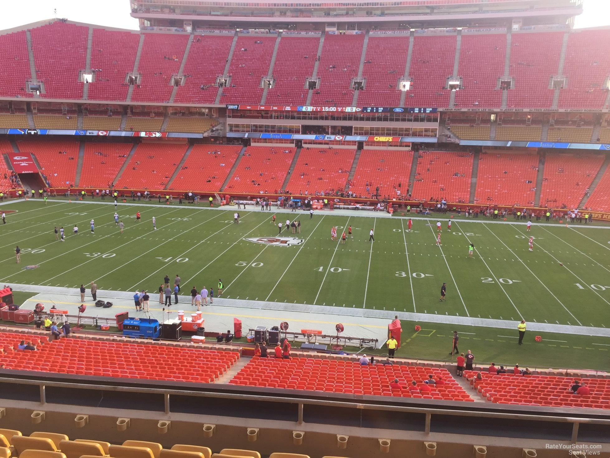Seat View For Arrowhead Stadium Section 246 Row 7