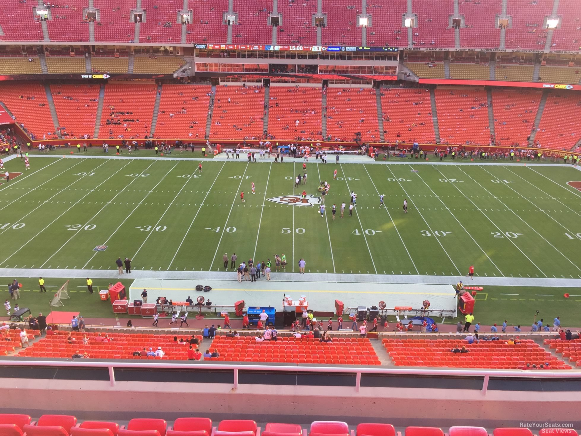 Seat View for Arrowhead Stadium Section 301, Row 7