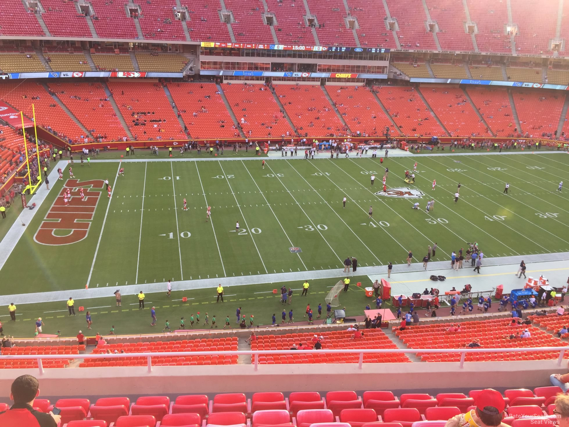 Seat View for Arrowhead Stadium Section 304, Row 7