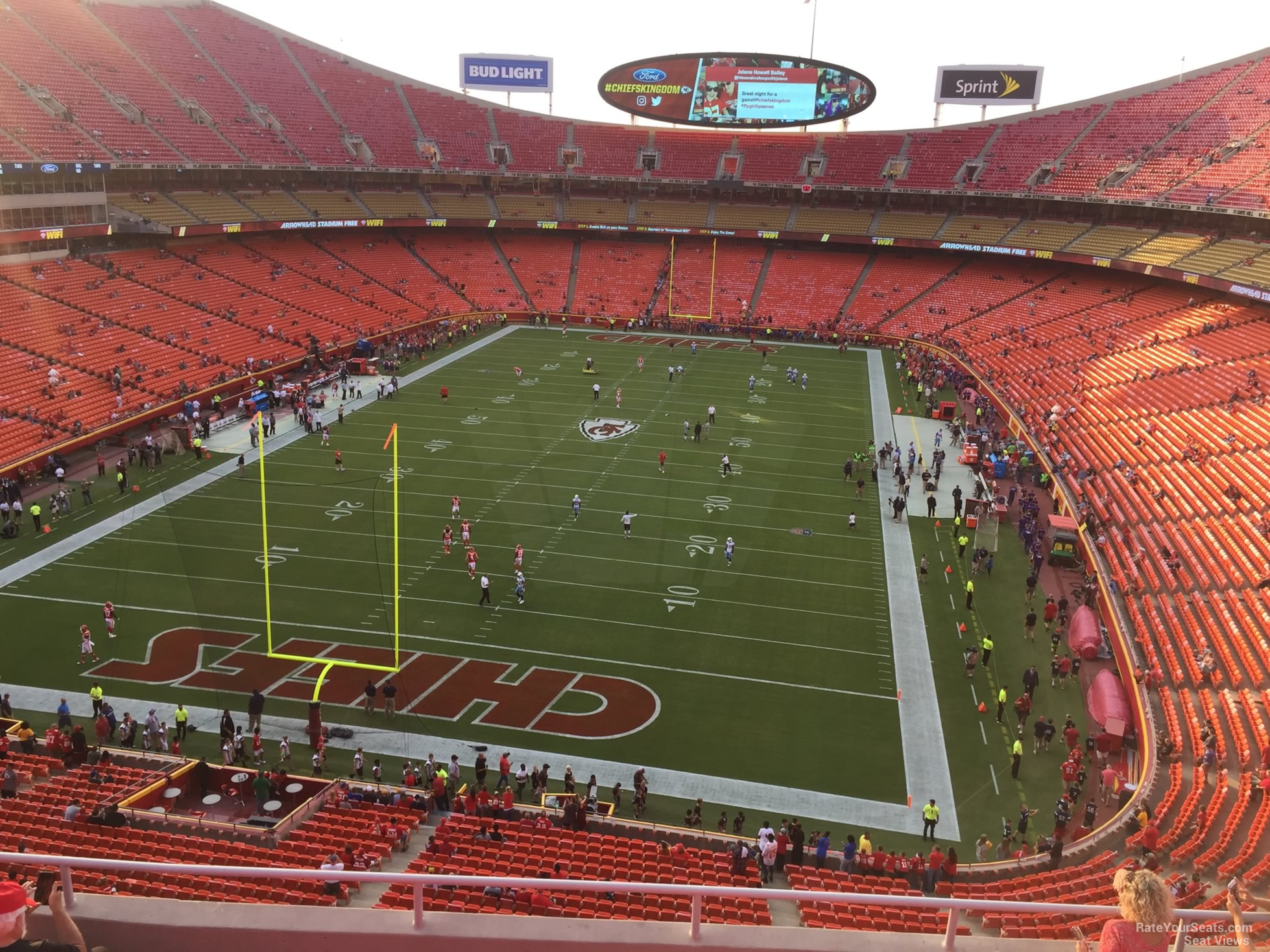 Seat View for Arrowhead Stadium Section 311, Row 7