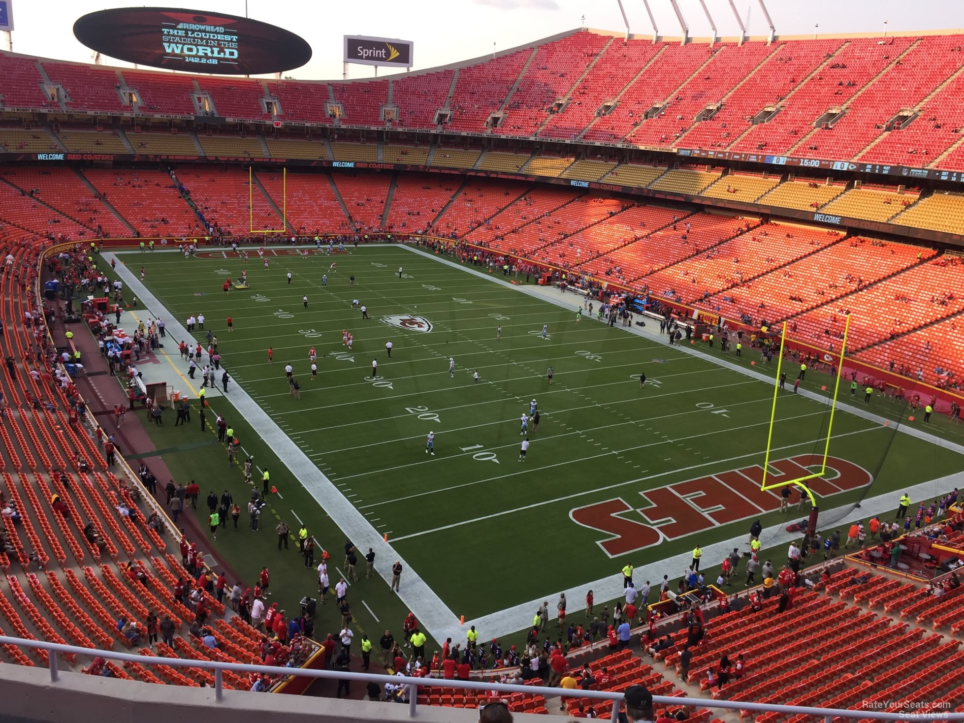 Seat View for Arrowhead Stadium Section 316, Row 7