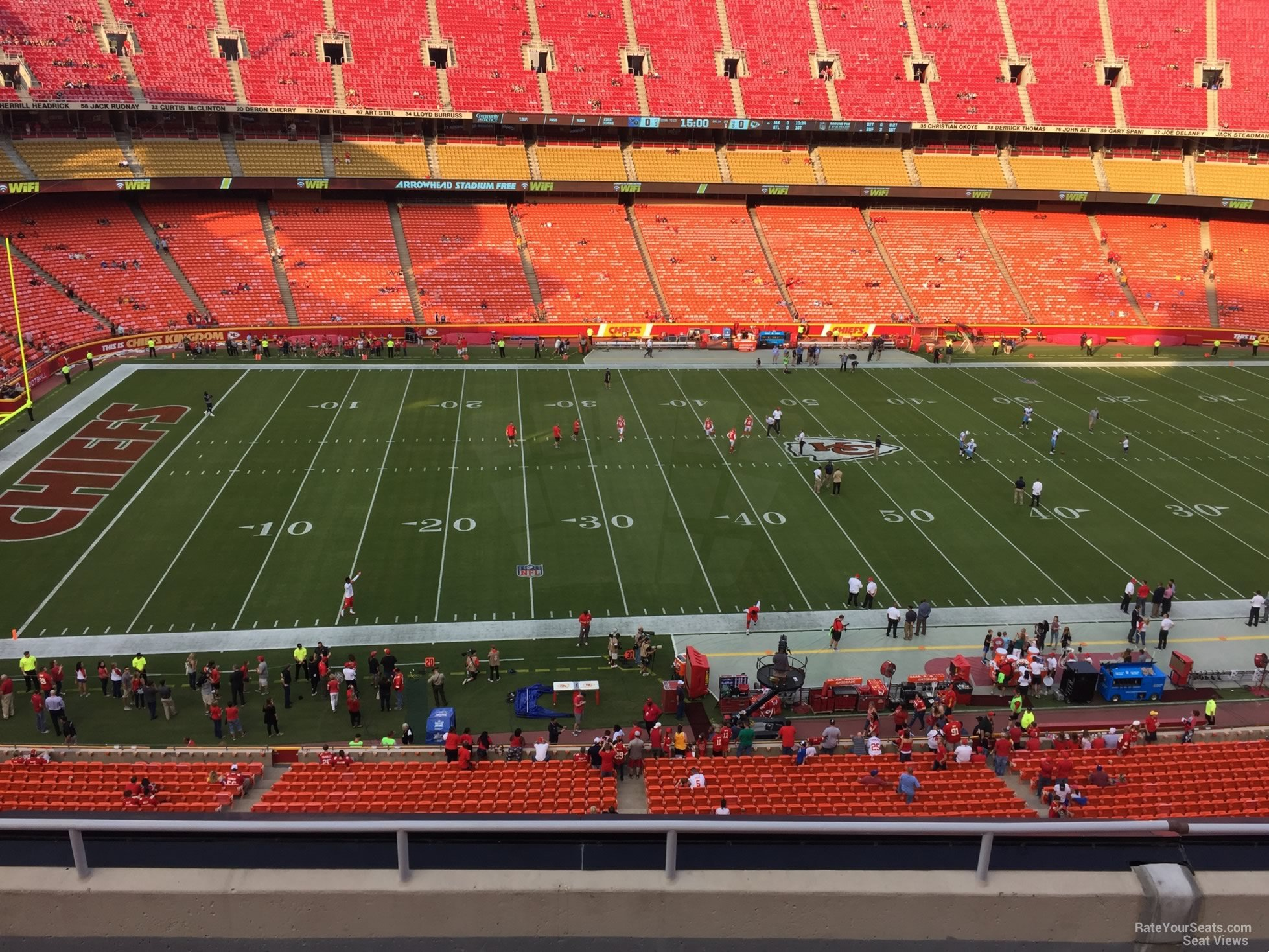 Seat View for Arrowhead Stadium Section 326, Row 7