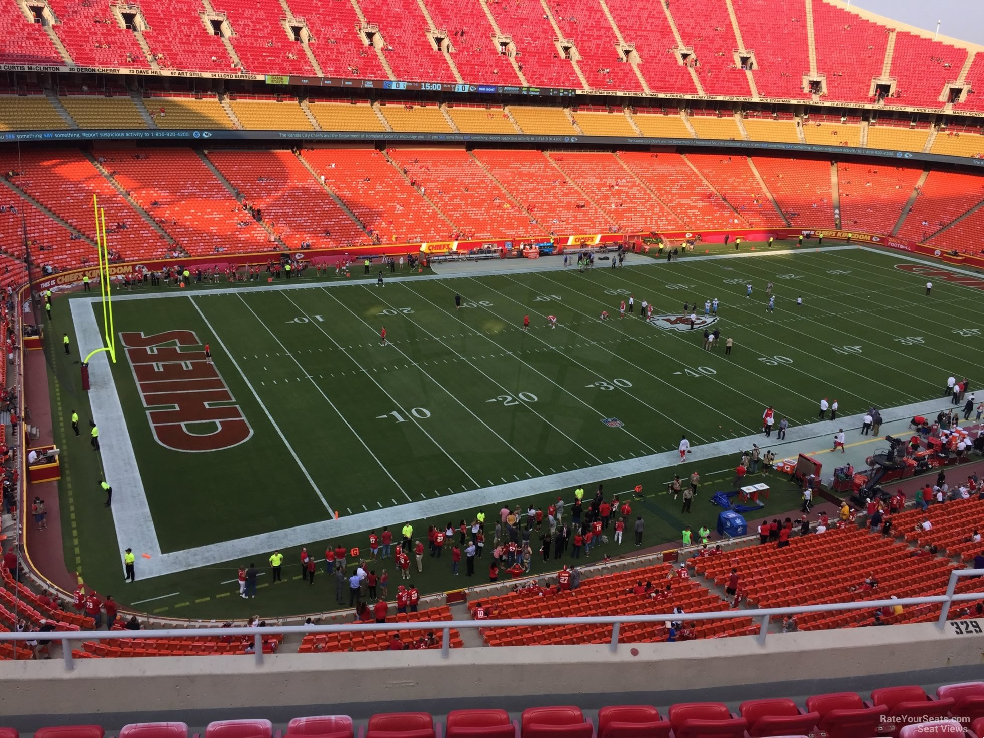 Arrowhead Stadium Section 329