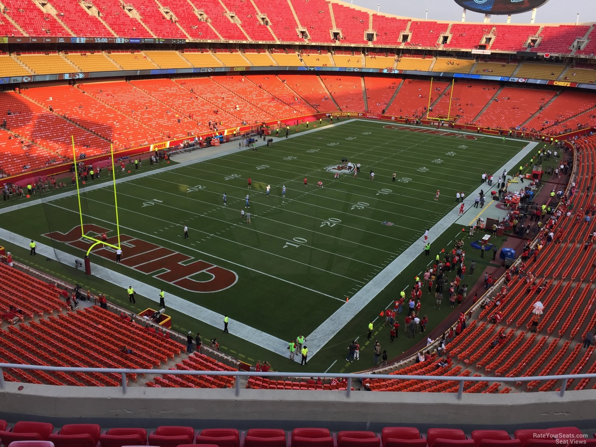 Seat View for Arrowhead Stadium Section 332, Row 7