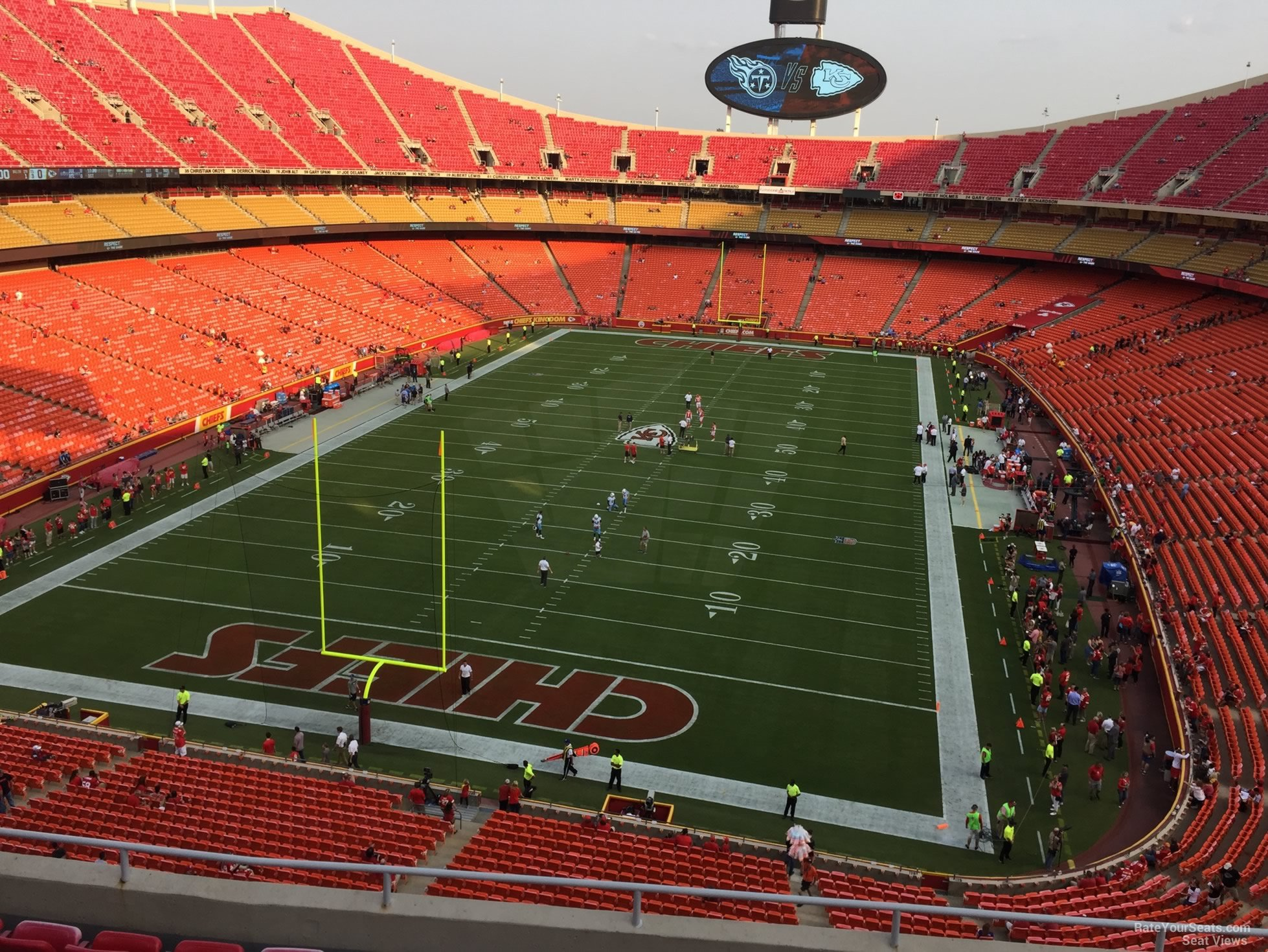 Seat View for Arrowhead Stadium Section 334, ...