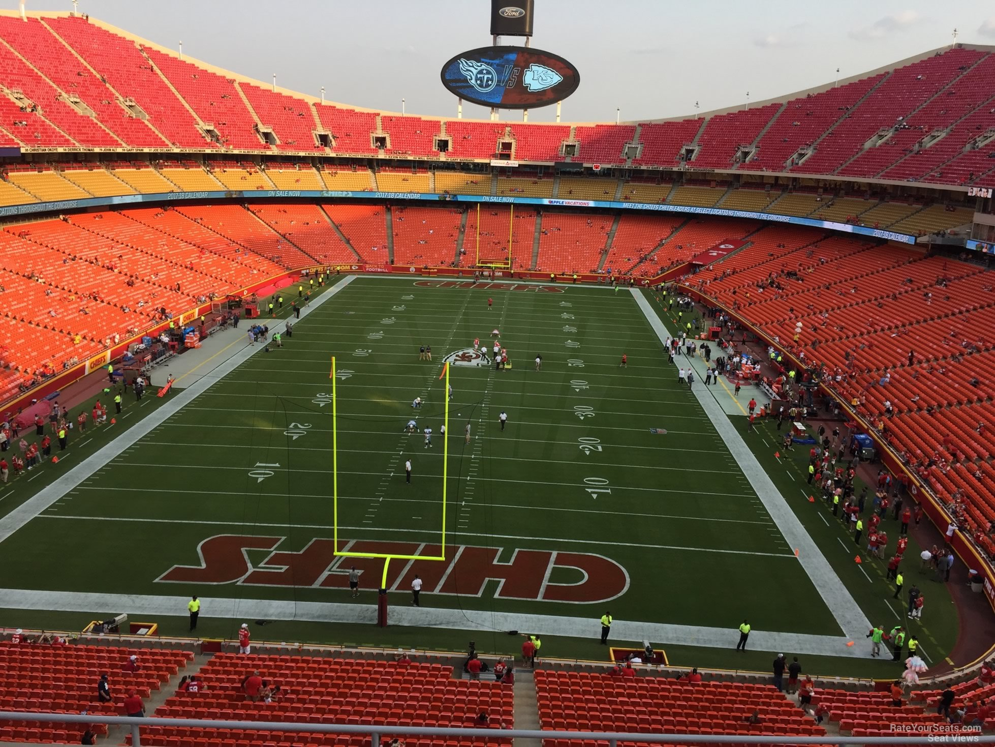 Seat View for Arrowhead Stadium Section 335, Row 7