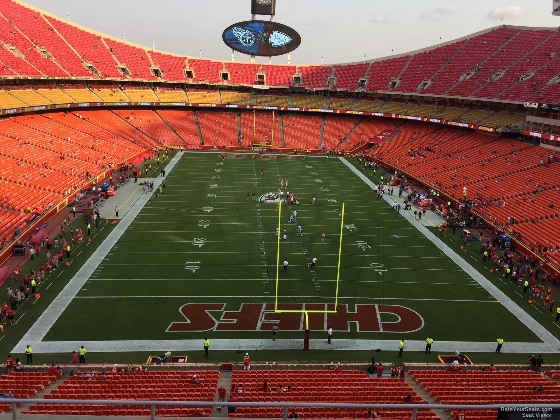 Seat View for Arrowhead Stadium Section 336, Row 7
