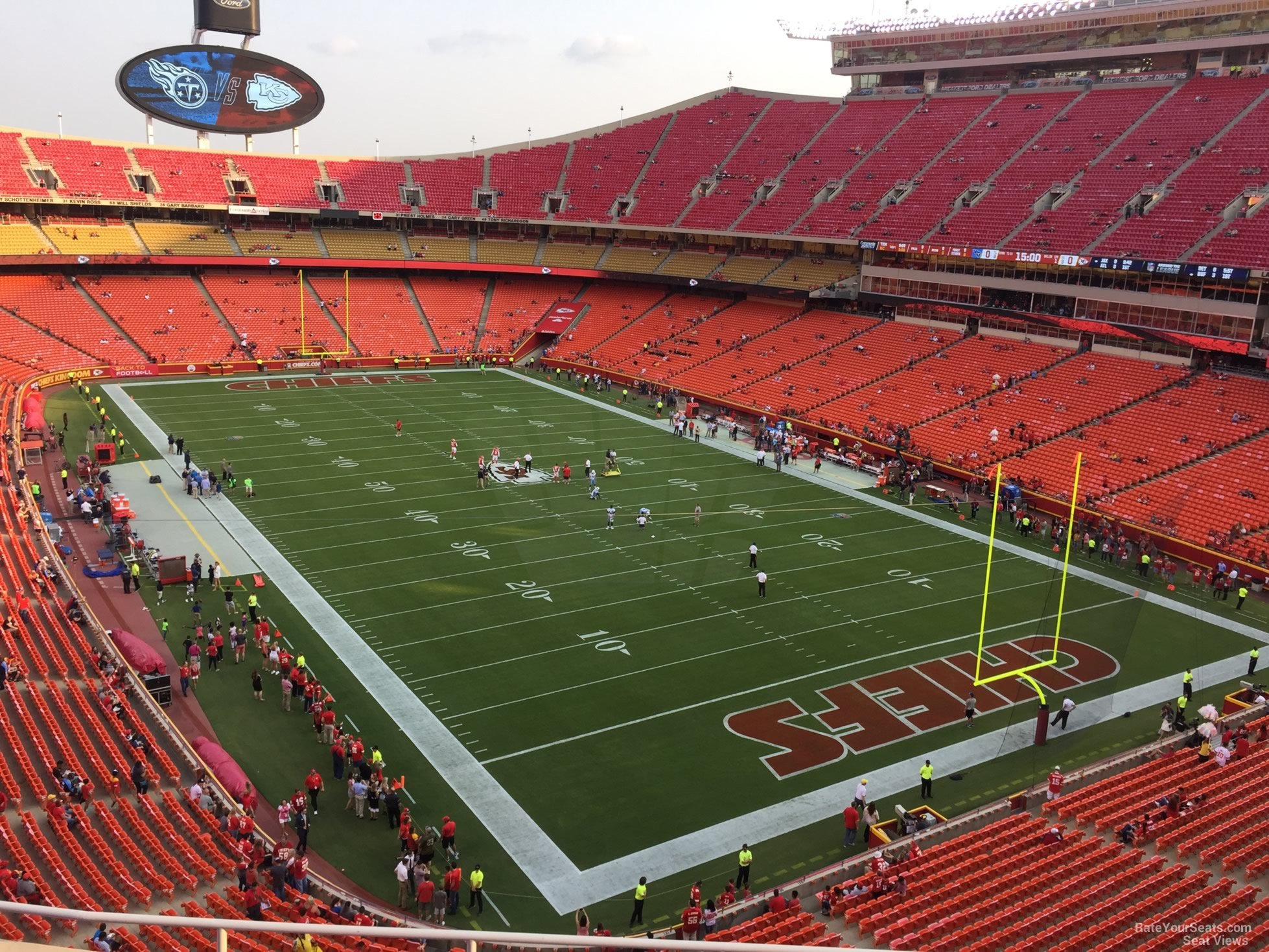 Seat View for Arrowhead Stadium Section 339, Row 7