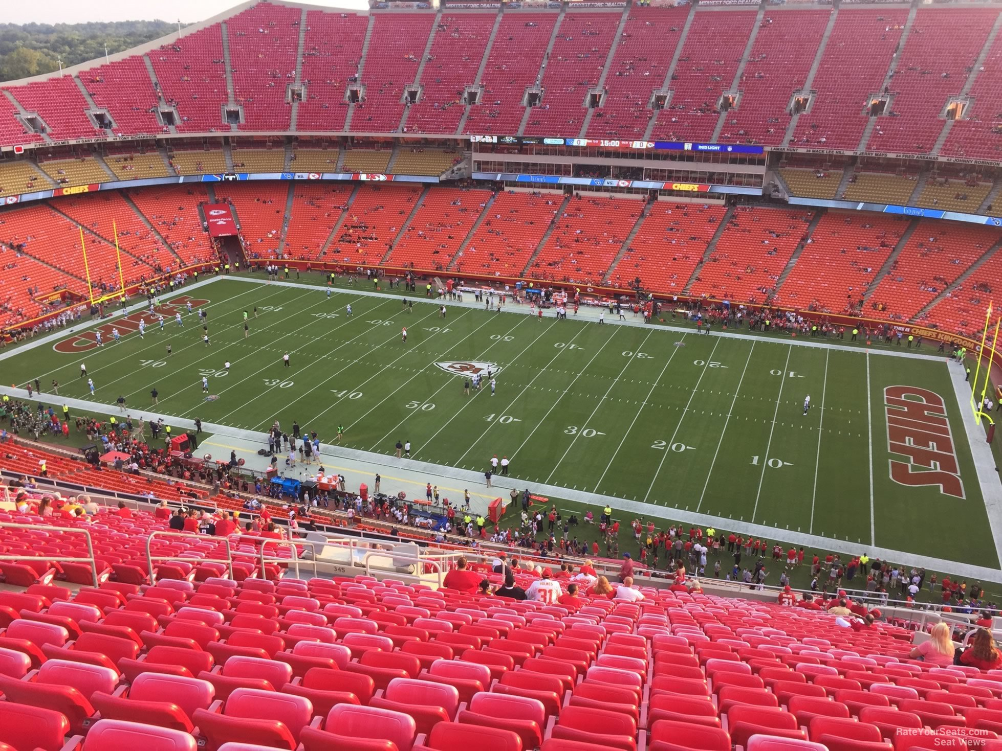 Section 344 seat view