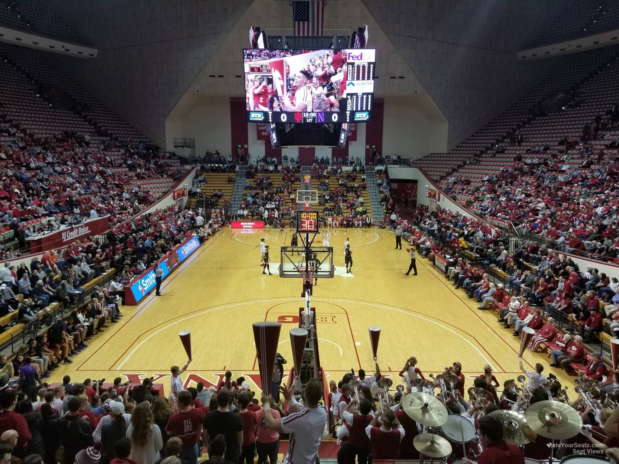 Seat View for Assembly Hall Section 1, Row 19