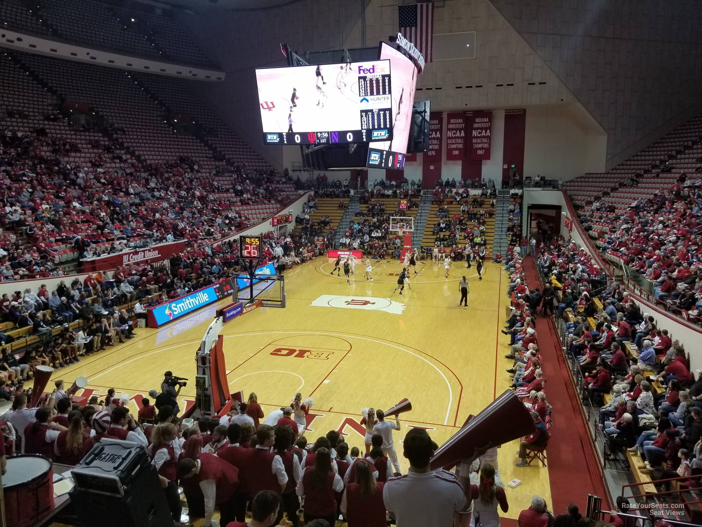Seat View for Assembly Hall Section 10, Row 19