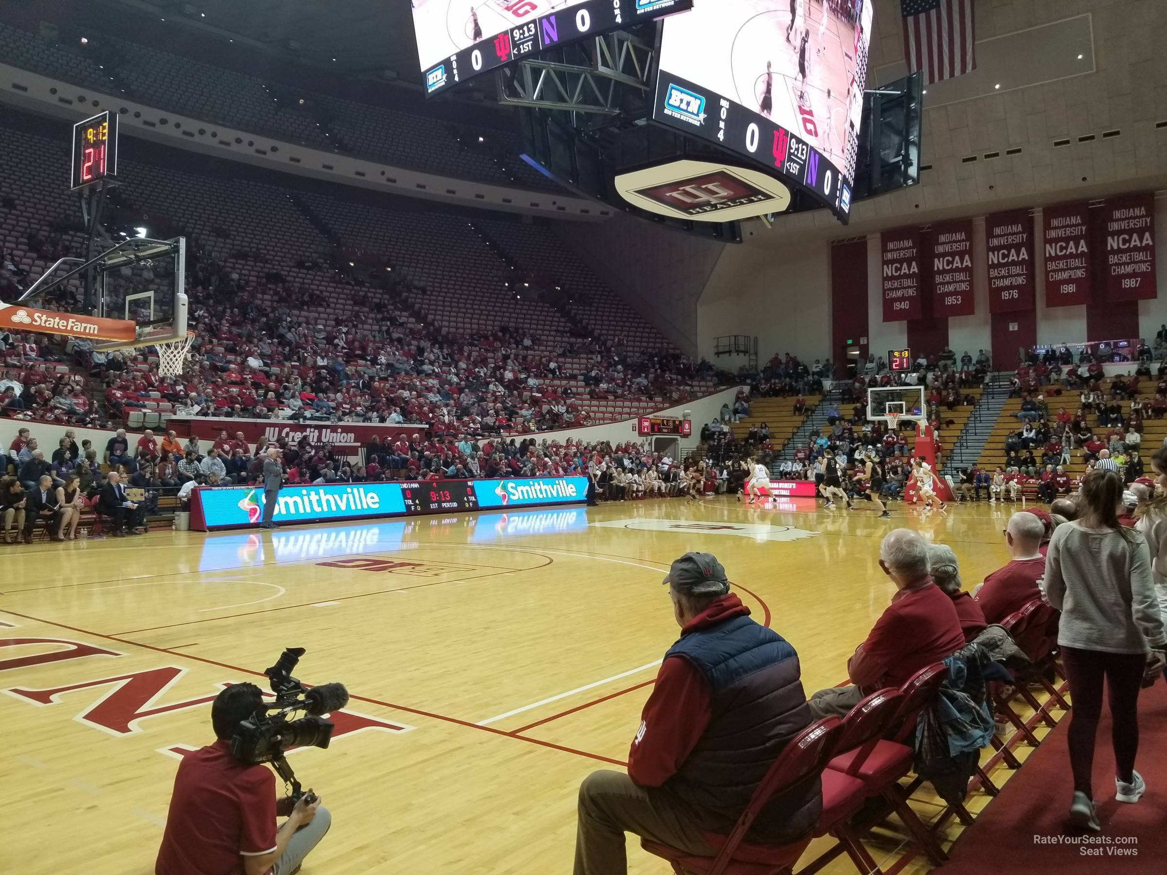 Seat View for Assembly Hall Section 9, Row 1