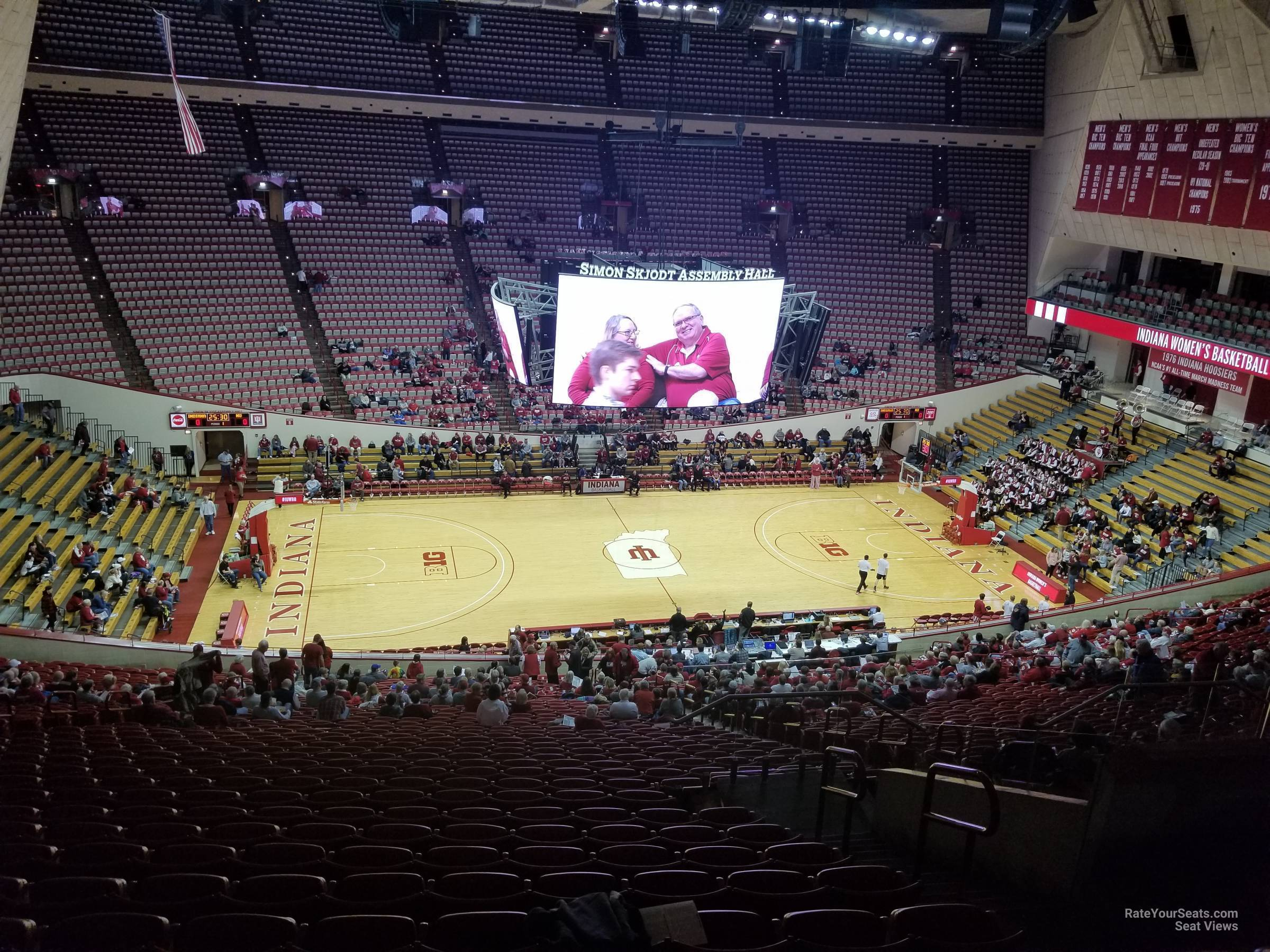 Seat View for Assembly Hall Section D, Row 36