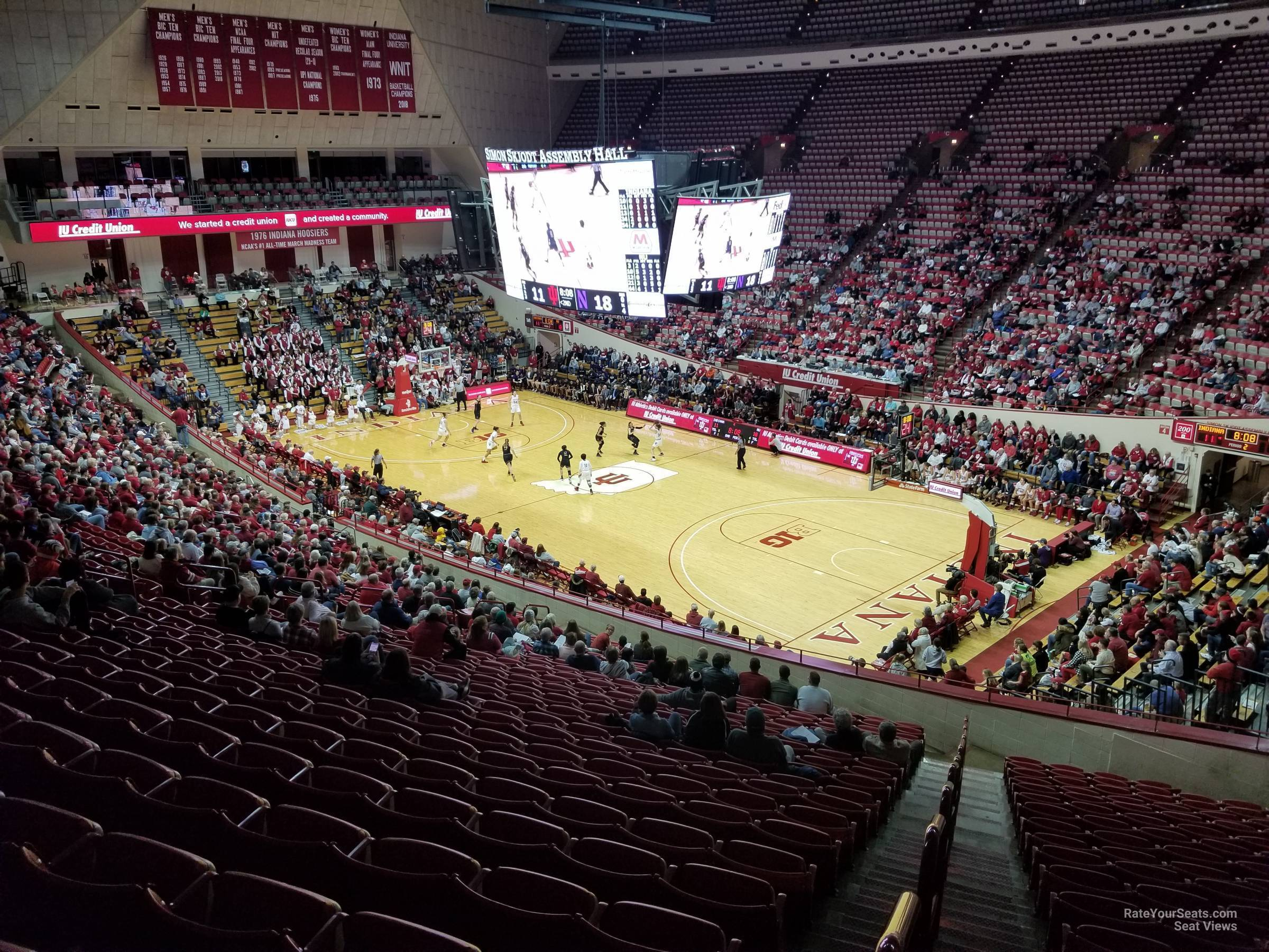 Seat View for Assembly Hall Section G, Row 26