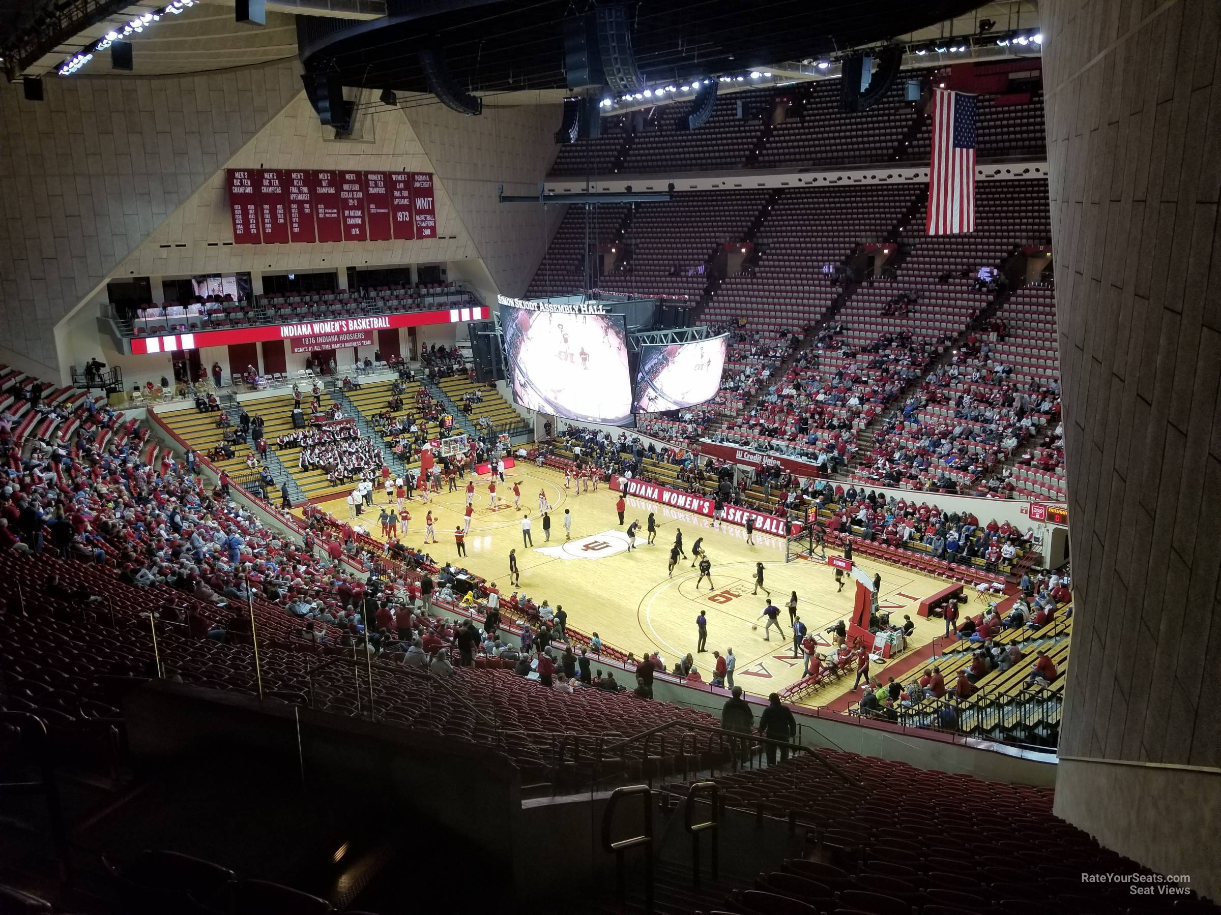 Seat View for Assembly Hall Section G, Row 36
