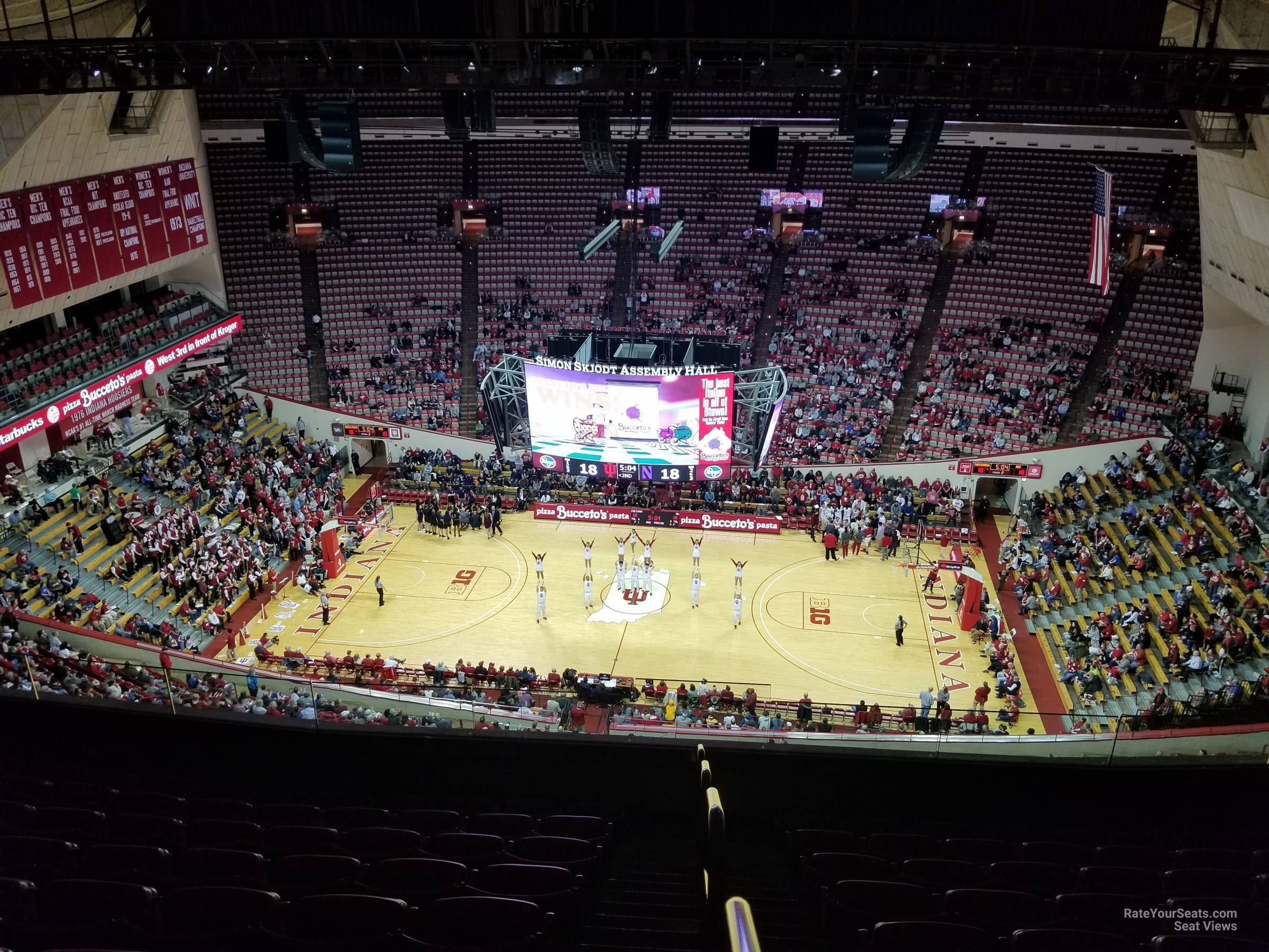 Seat View for Assembly Hall Section JJ, Row 9