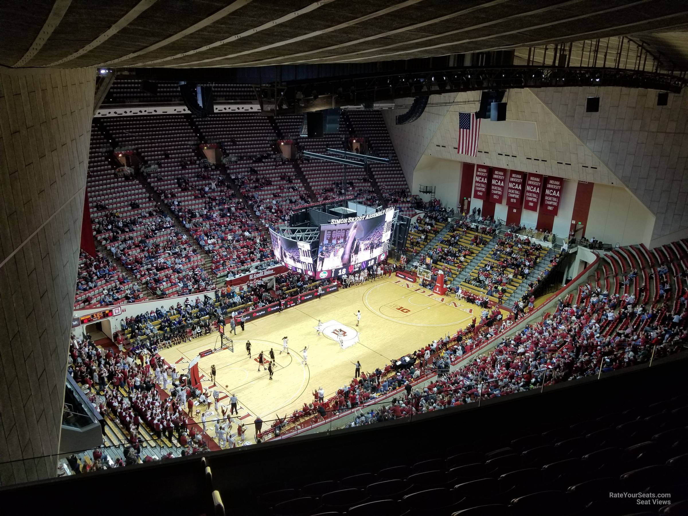 Seat View for Assembly Hall Section MM, Row 9