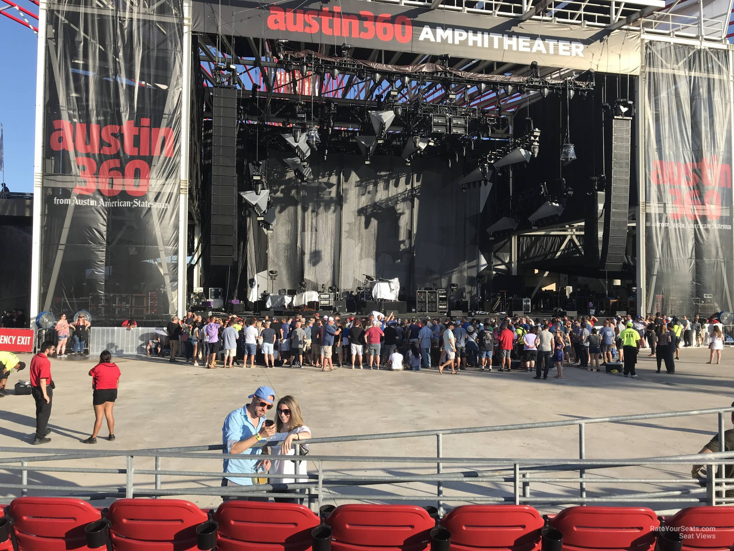 Austin360 Amphitheater Seating Chart With Rows