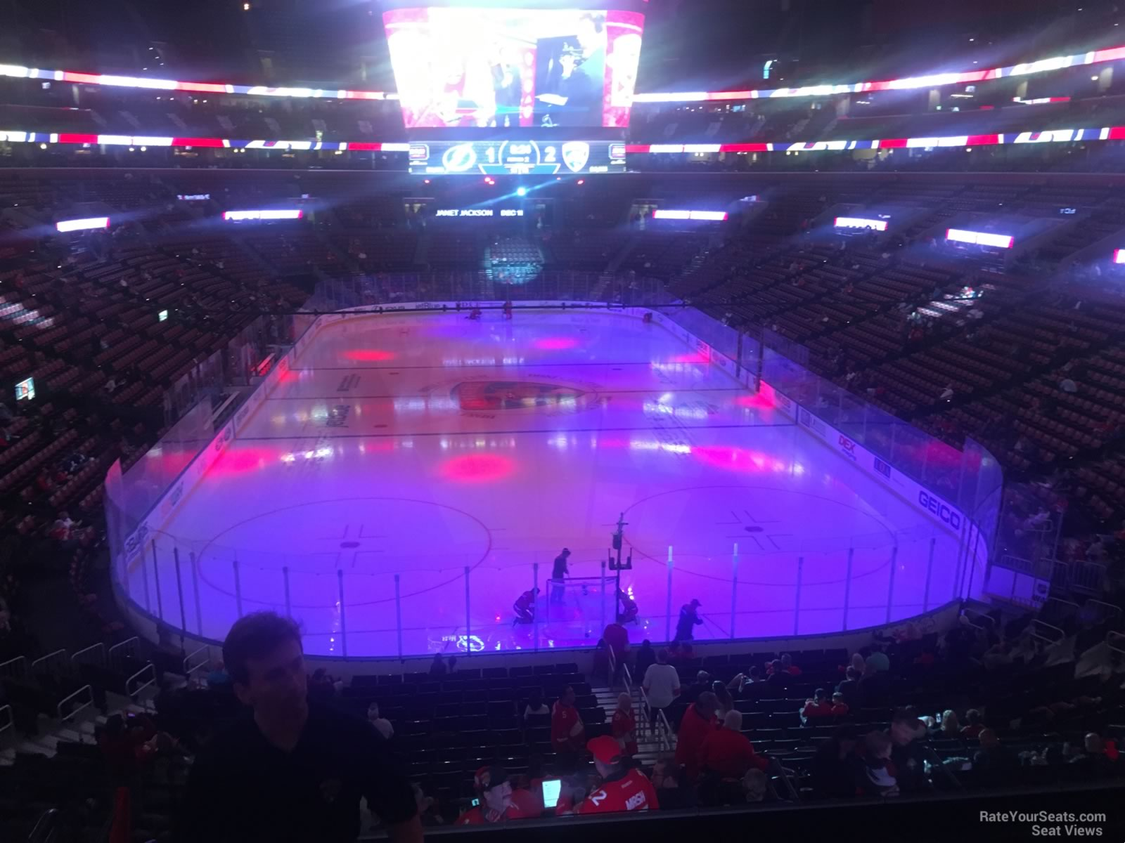 Seat View for BB&T Center Section 127, Row 25