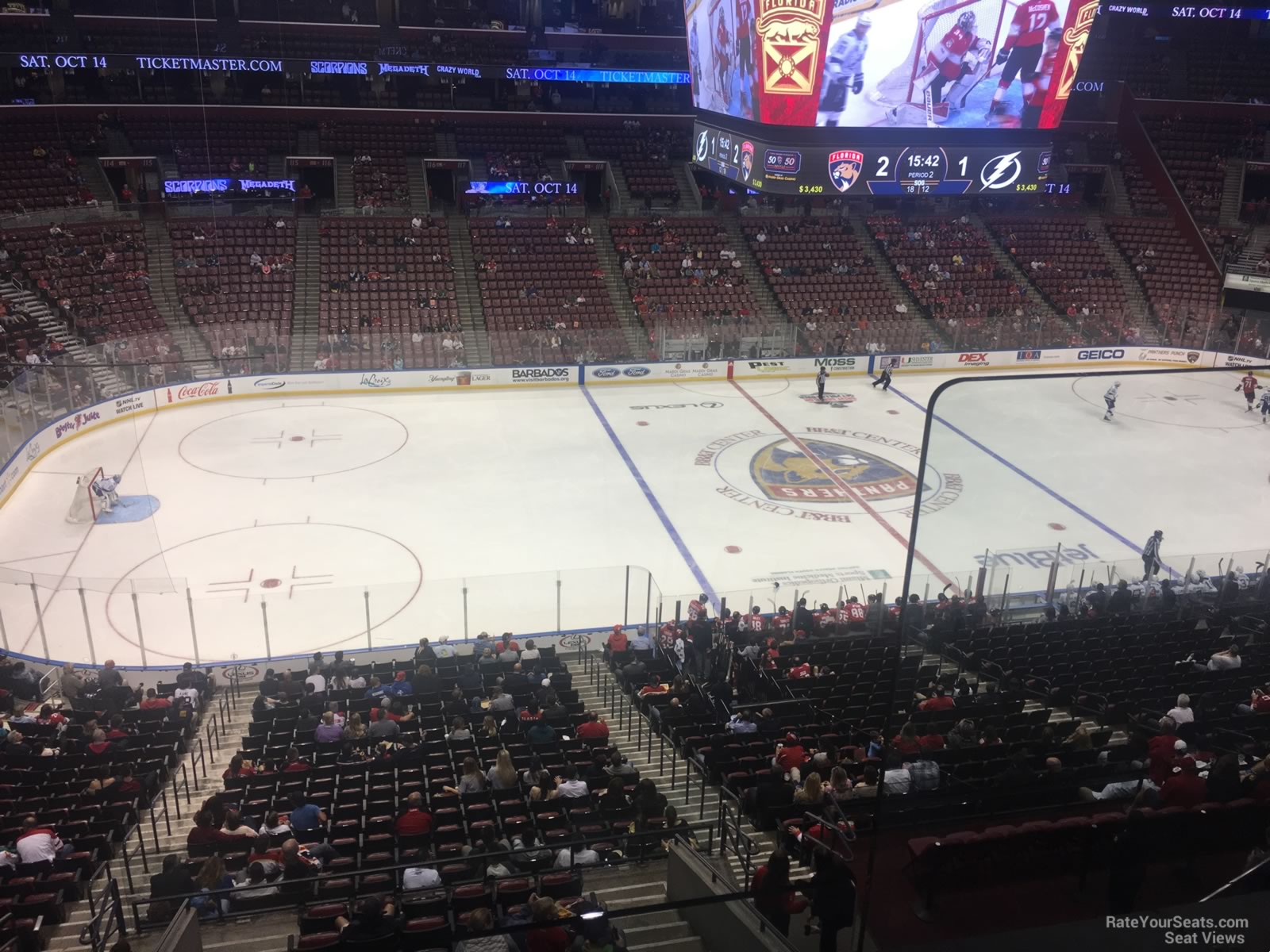 BB T Center Club 2 - Florida Panthers - RateYourSeats.com 13a891a261fe