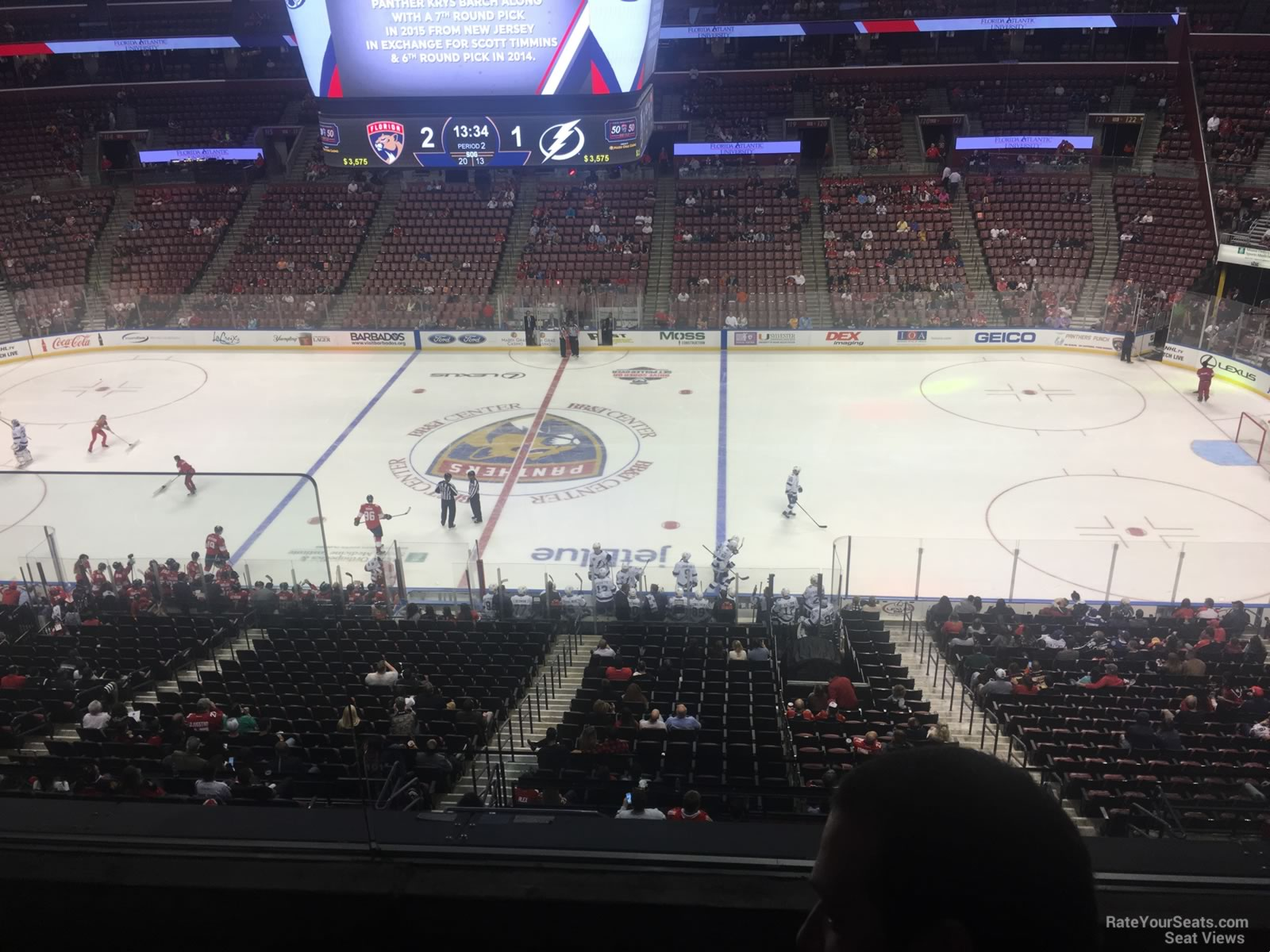 BB T Center Club 35 - Florida Panthers - RateYourSeats.com b56f930dd49f