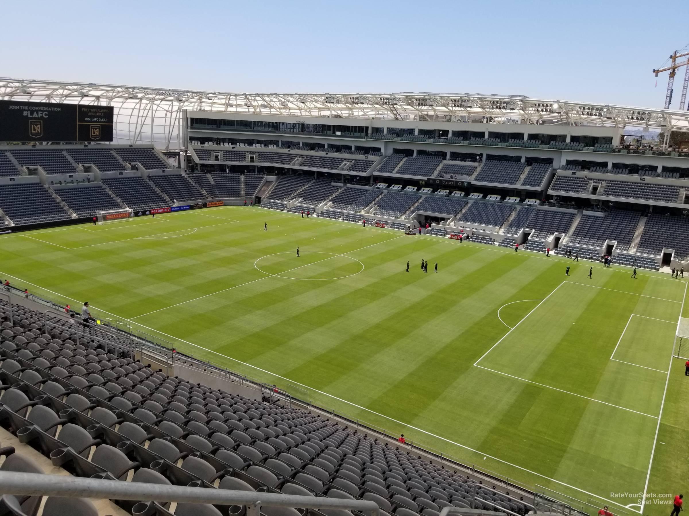 Banc Of California Stadium Section 208 Rateyourseatscom