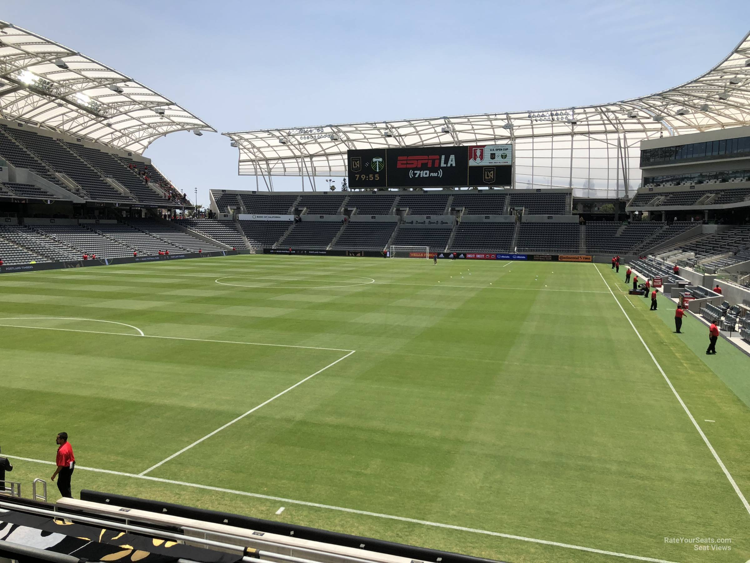 Supporters Section seat view