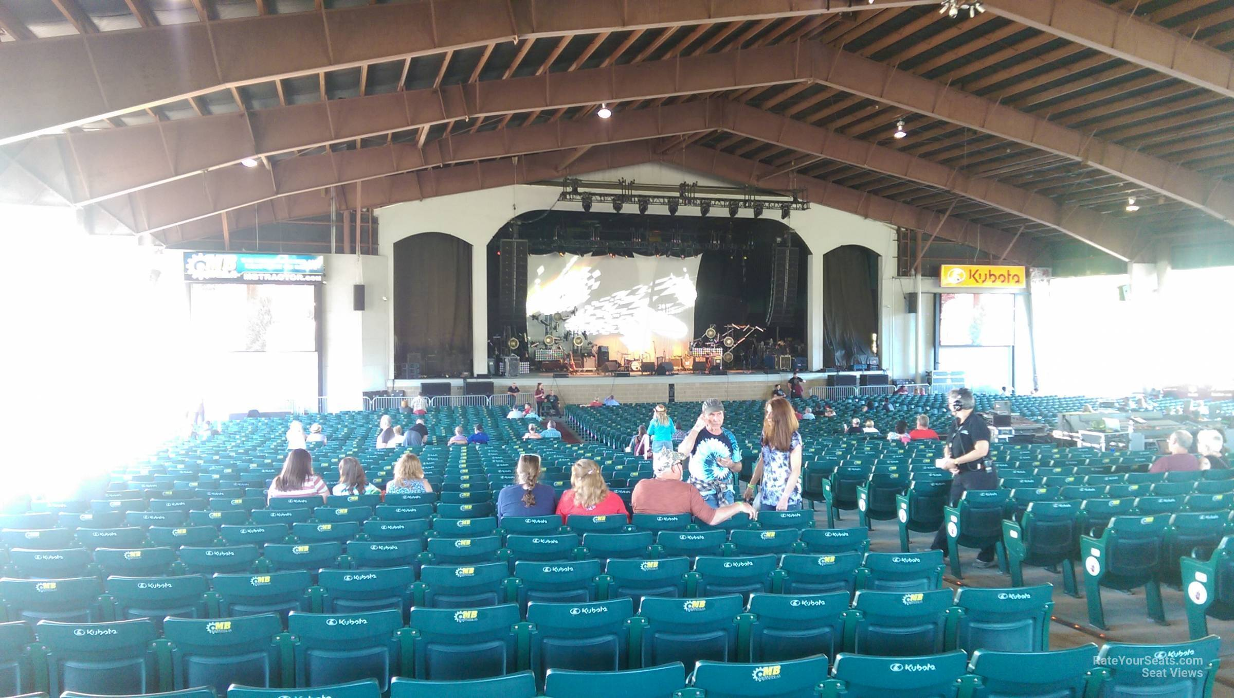 Concert Seat View For Bank Of New Hampshire Pavilion Meadowbrook Section 2a