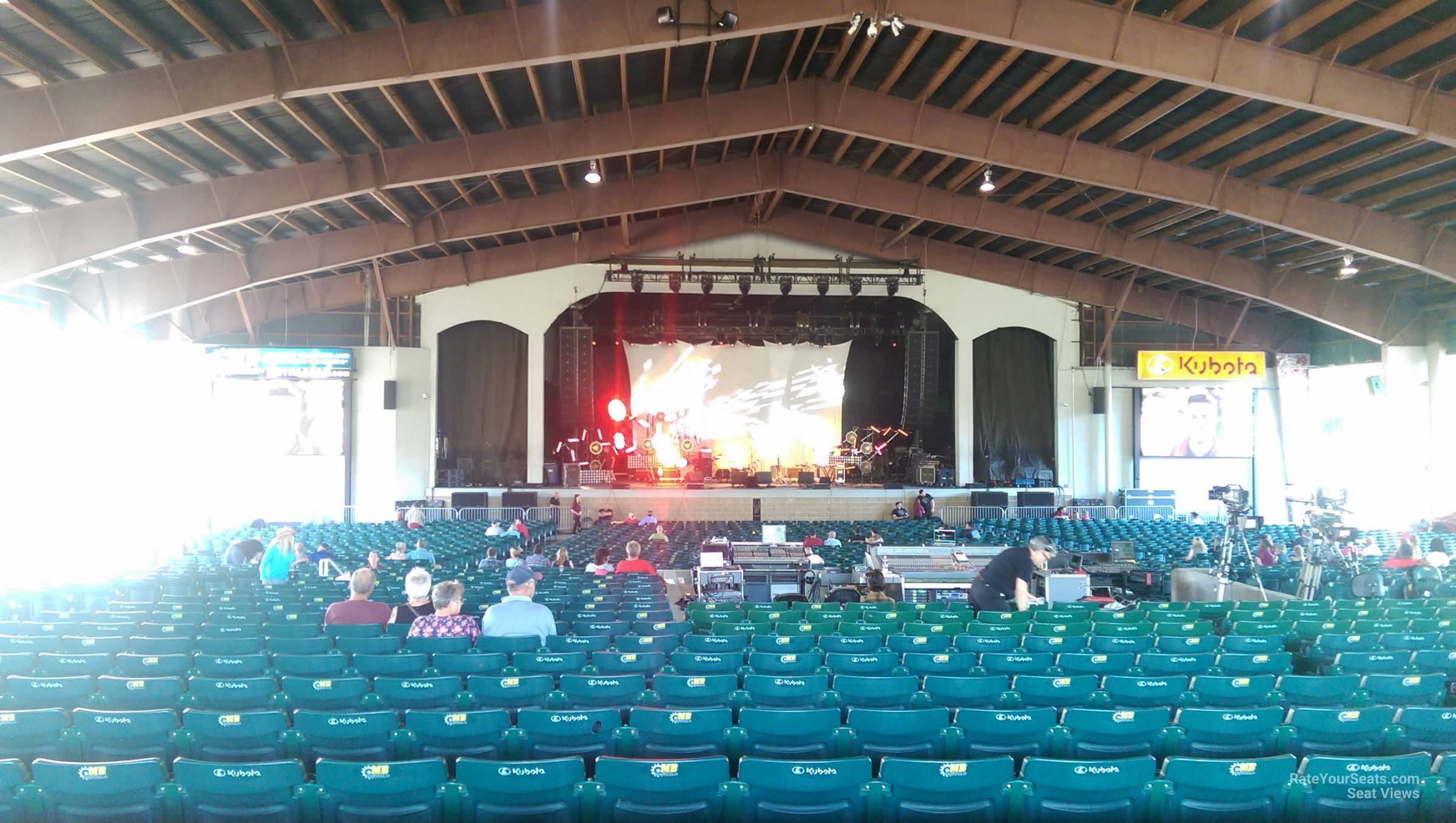 Concert Seat View For Bank Of New Hampshire Pavilion Meadowbrook Section 2b
